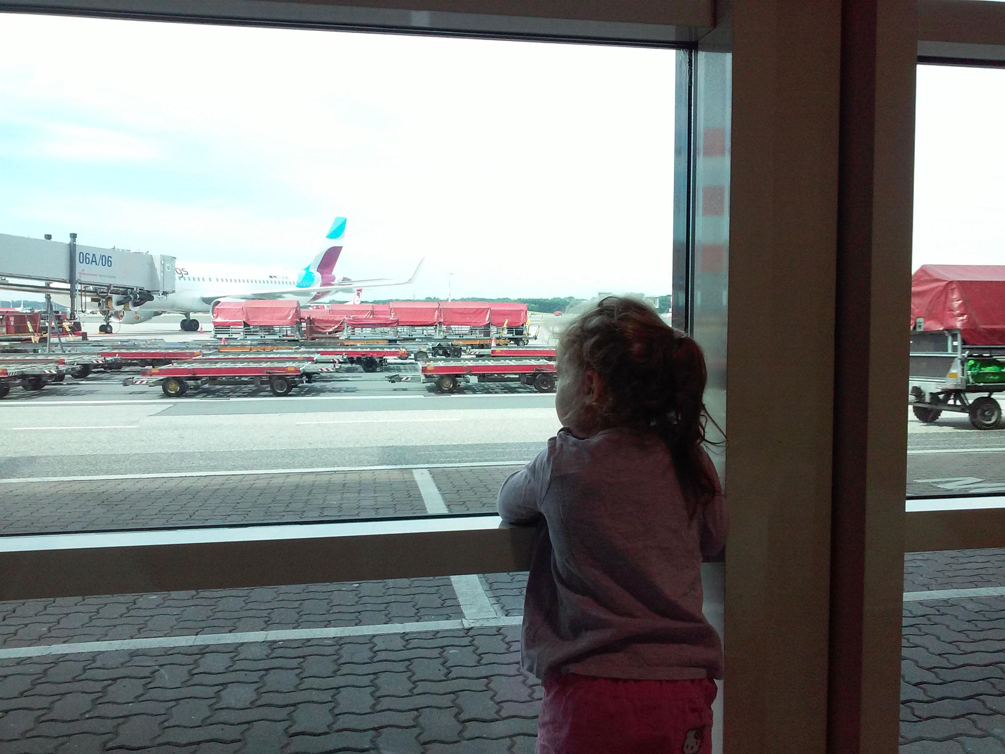 Der erste Flug des Lebens...