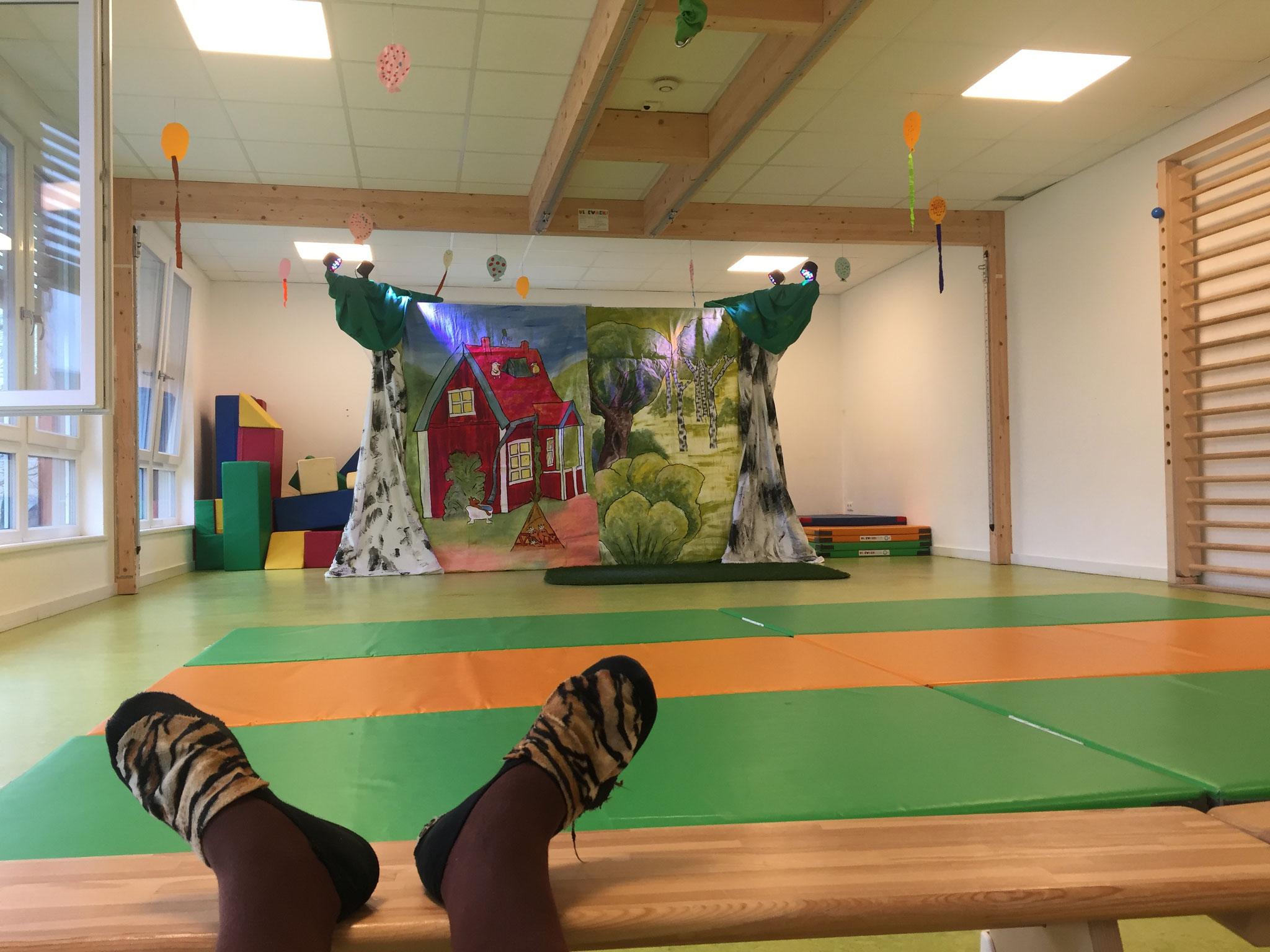 Kita Bewegungsraum, Platz für 200 Kinder