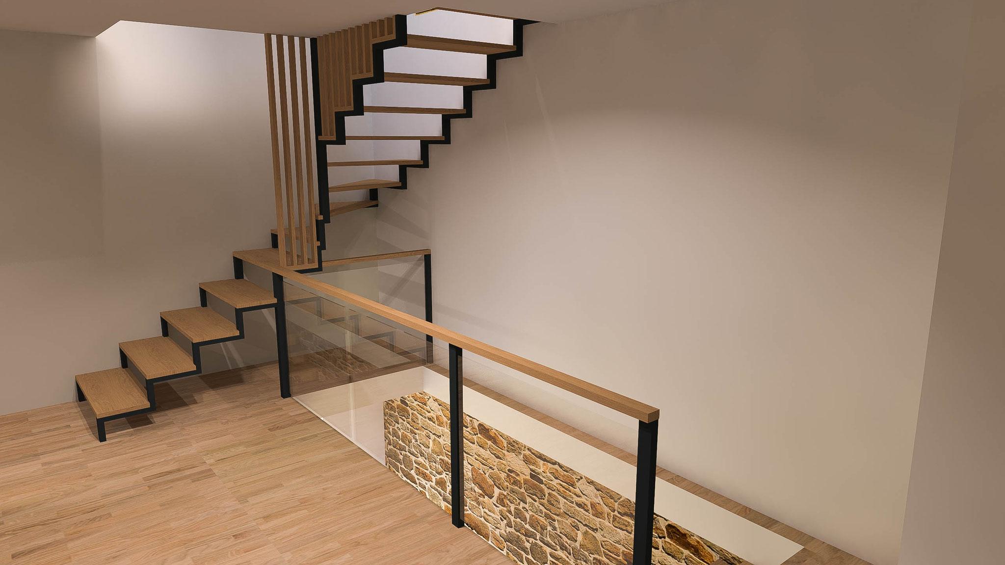 Projet 3d r novation agencement home switch home 3d for Comble faible hauteur