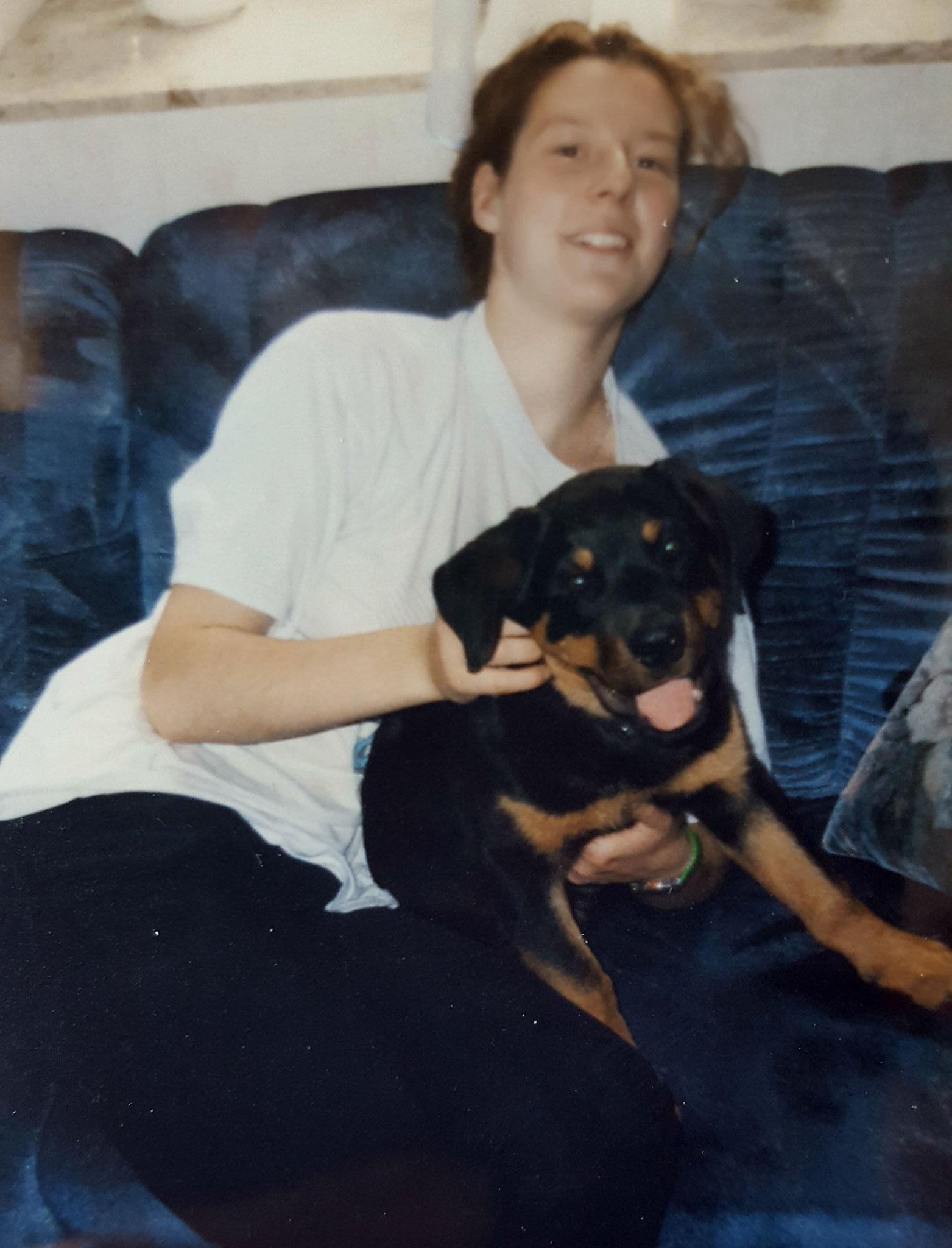 mein erster Sporthund Rotti Bessy