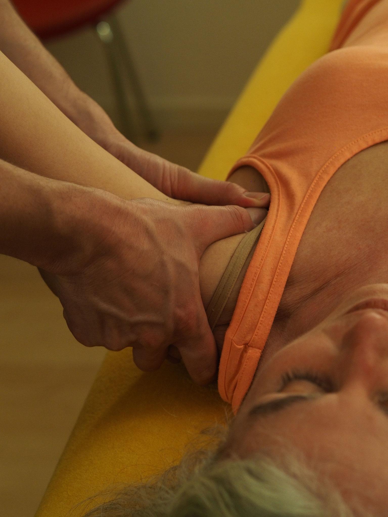 Schultergelenksmobilisation