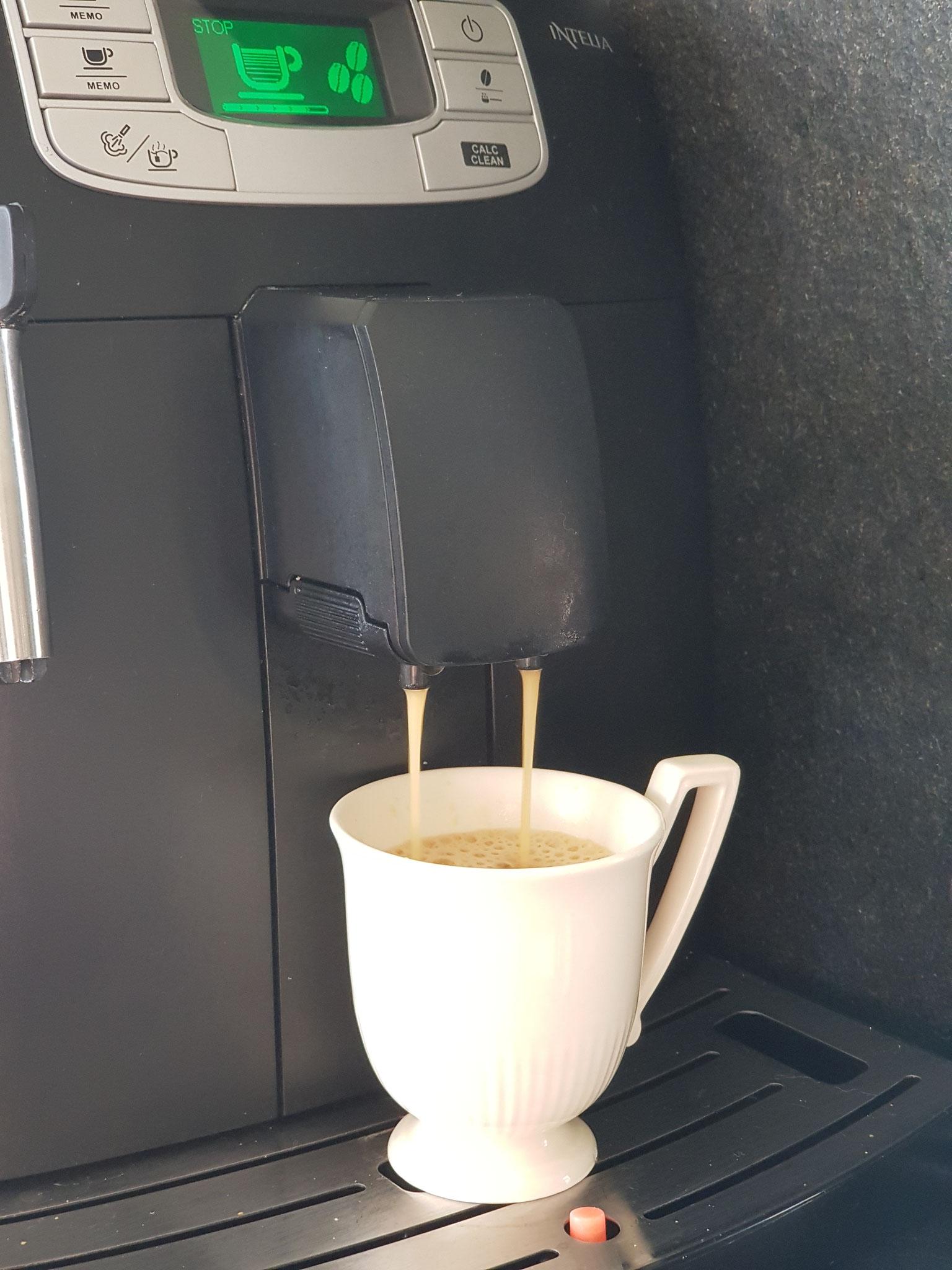 Er is altijd tijd voor vers gemalen bonen koffie bij Mooi samen!
