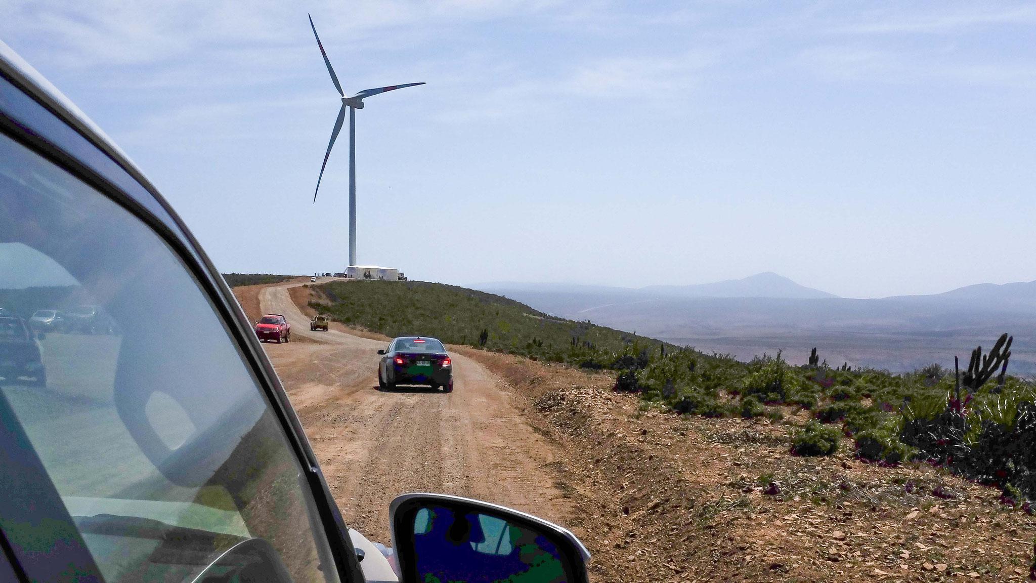 Proyecto planificado, diseñado y desarrollado por Eolic Partners: Parque Eólico Los Cururos (El Pacifico y La Cebada), IV Región Chile. Inauguración Octubre 2014 - Copyright Eolic Partners