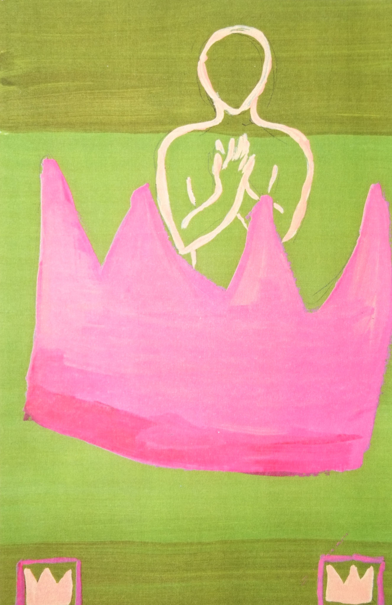 Kronenkönig rosa