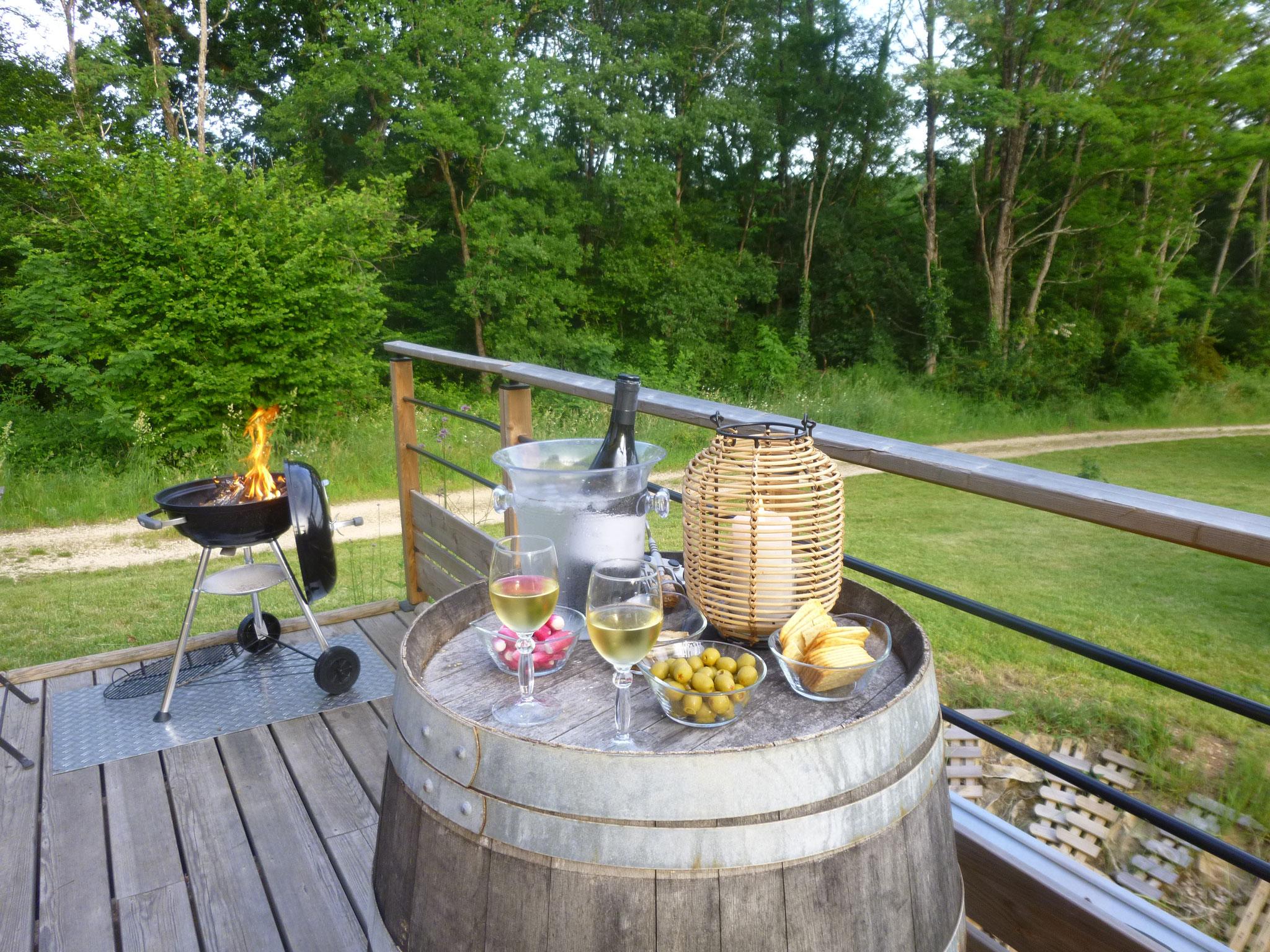 Le temps d'un apéro barbecue