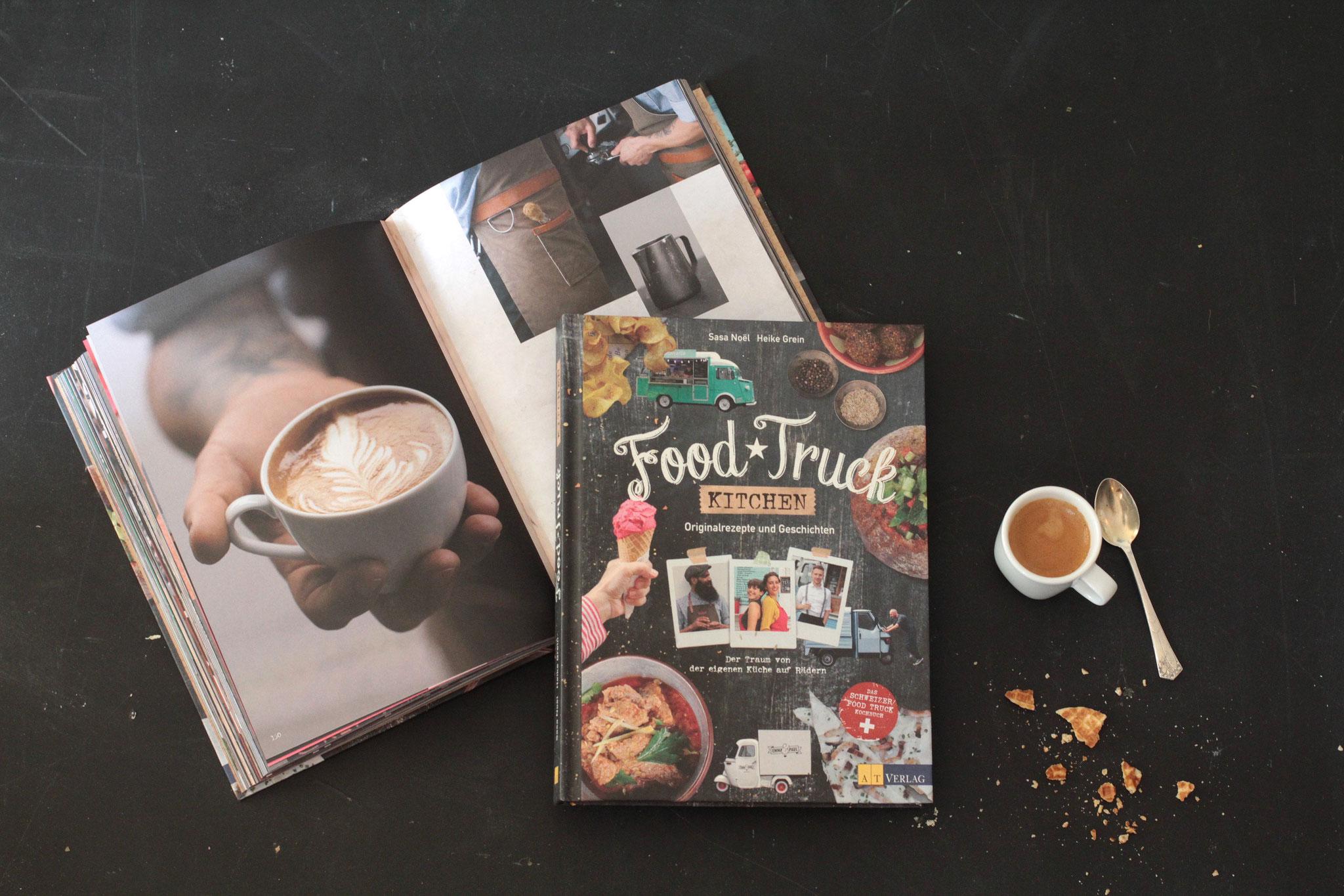 FOOD TRUCK KITCHEN  / Das Buch über die Streetfood Küche und Ihre Macher