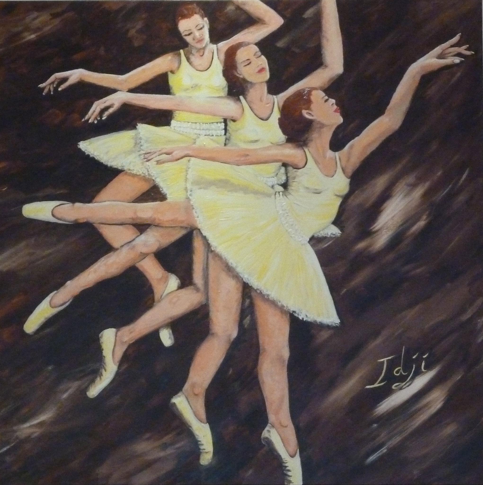 La ballerine vanille