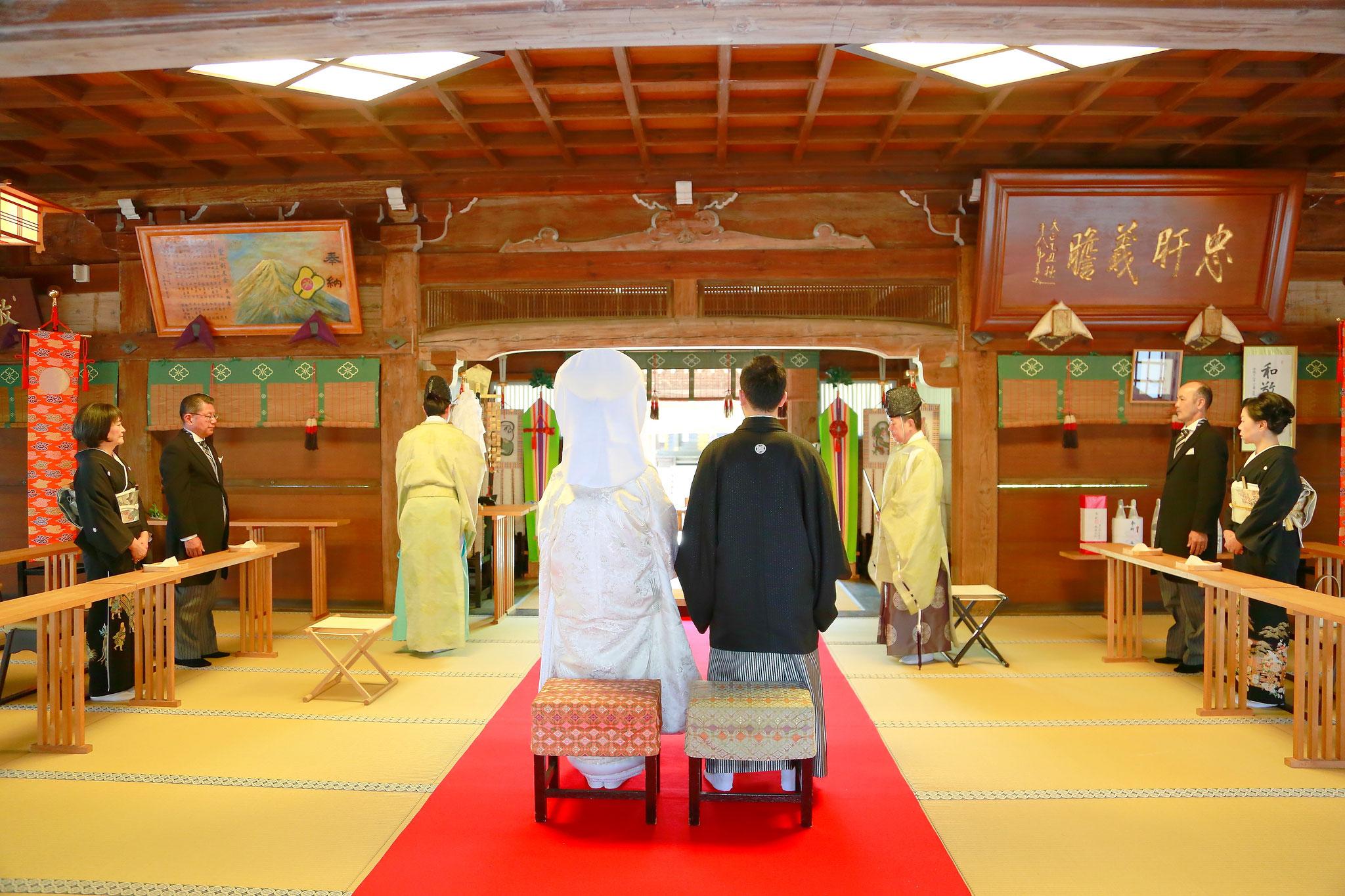 武田神社結婚