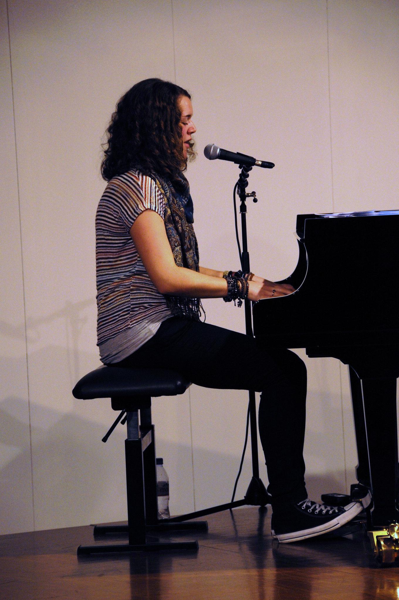 © Laura Nägeli: Bright - Konzert und CD-Taufe, 2012 [Musikschule, Arbon]