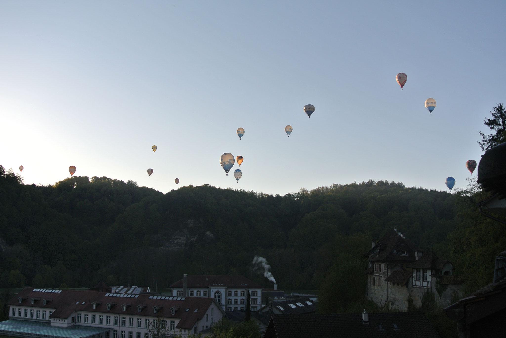 Schweizermeisterschaft Heissluftballon 2016