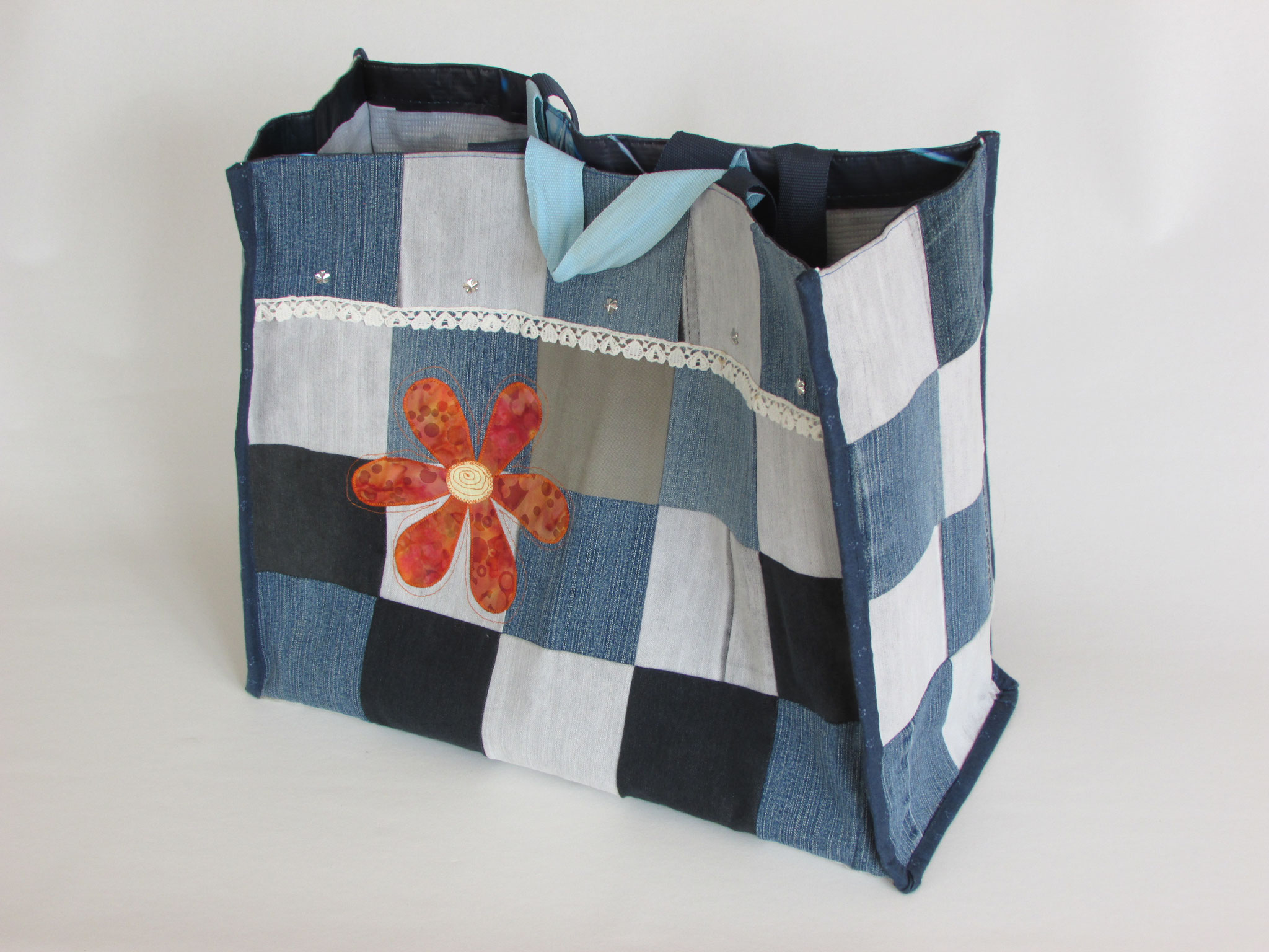 Shoppingtasche Jeans