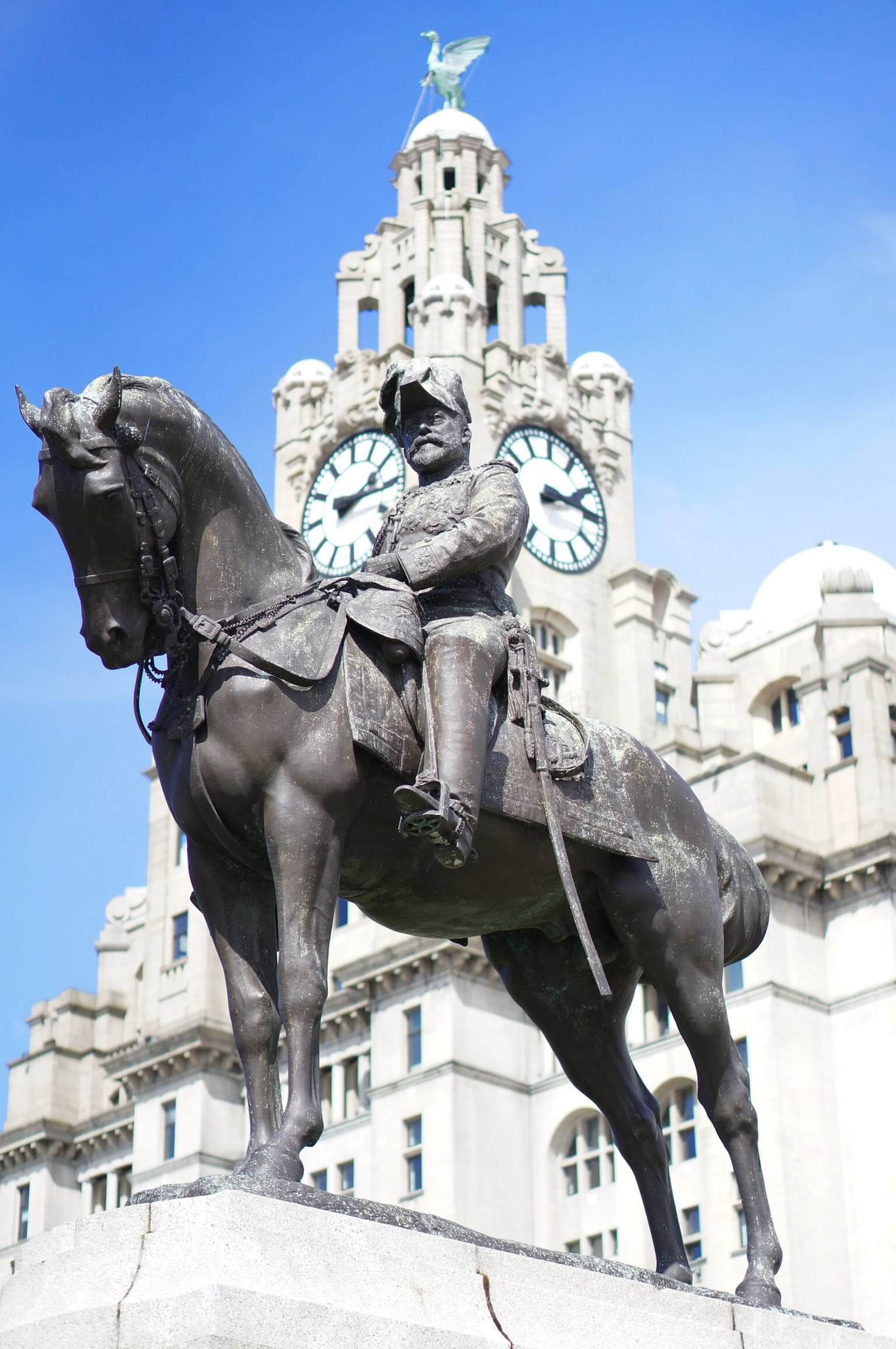 Monumento Do Rei Edward VII in Liverpool