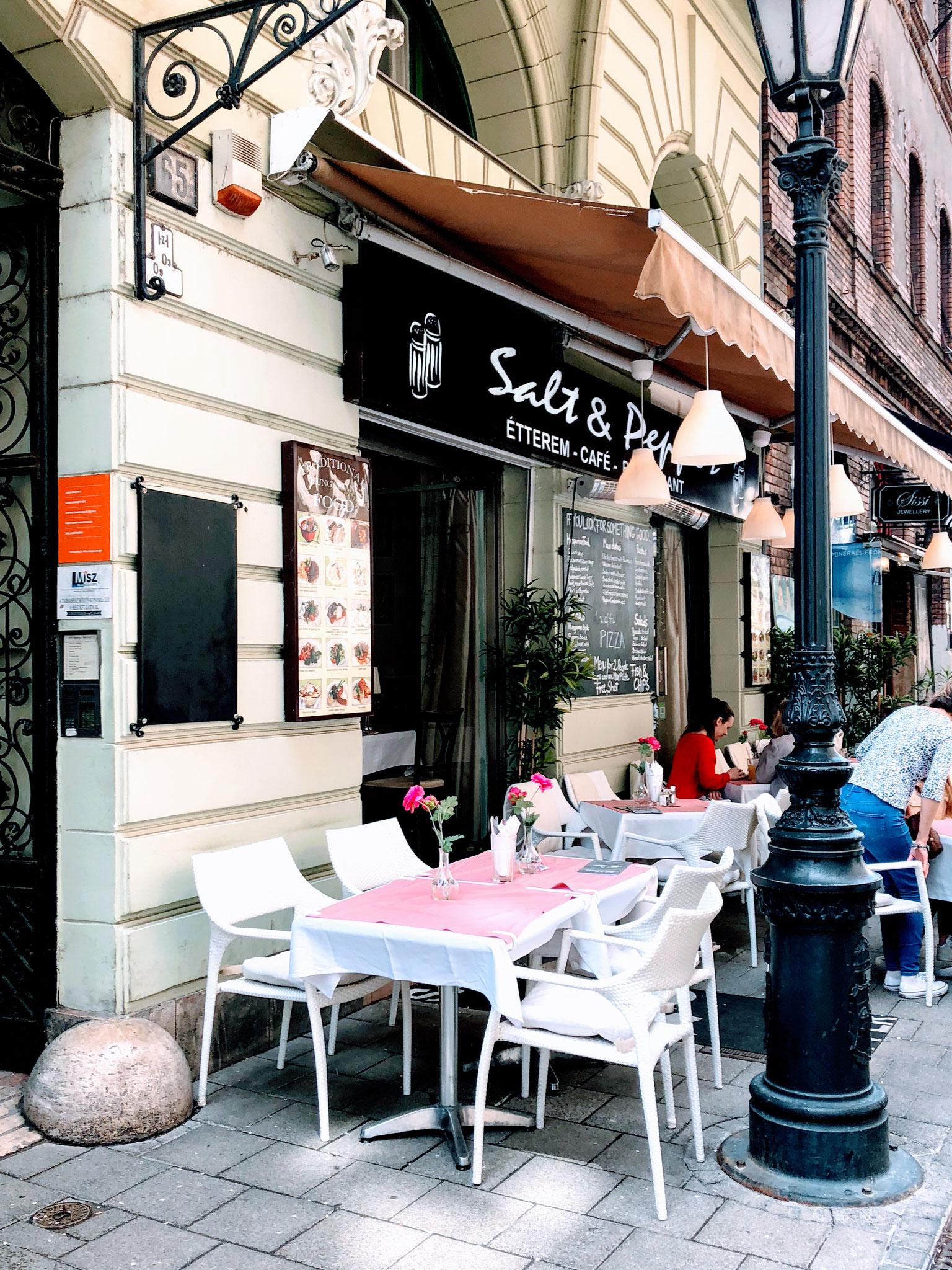 Restaurant Salt & Pepper mitten in Budapest