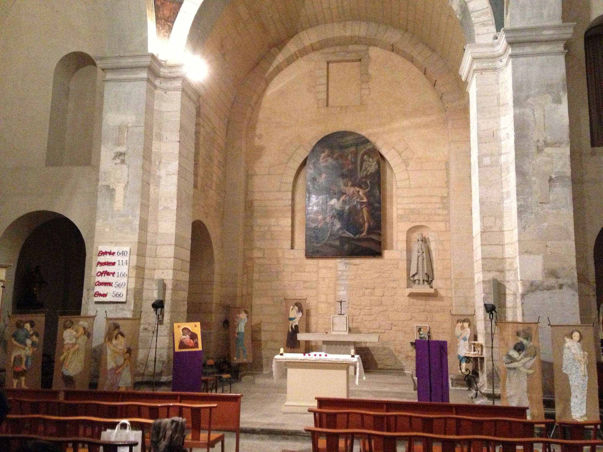 アビニオン教会・ミサ (フランス・アビニオン) 2014年