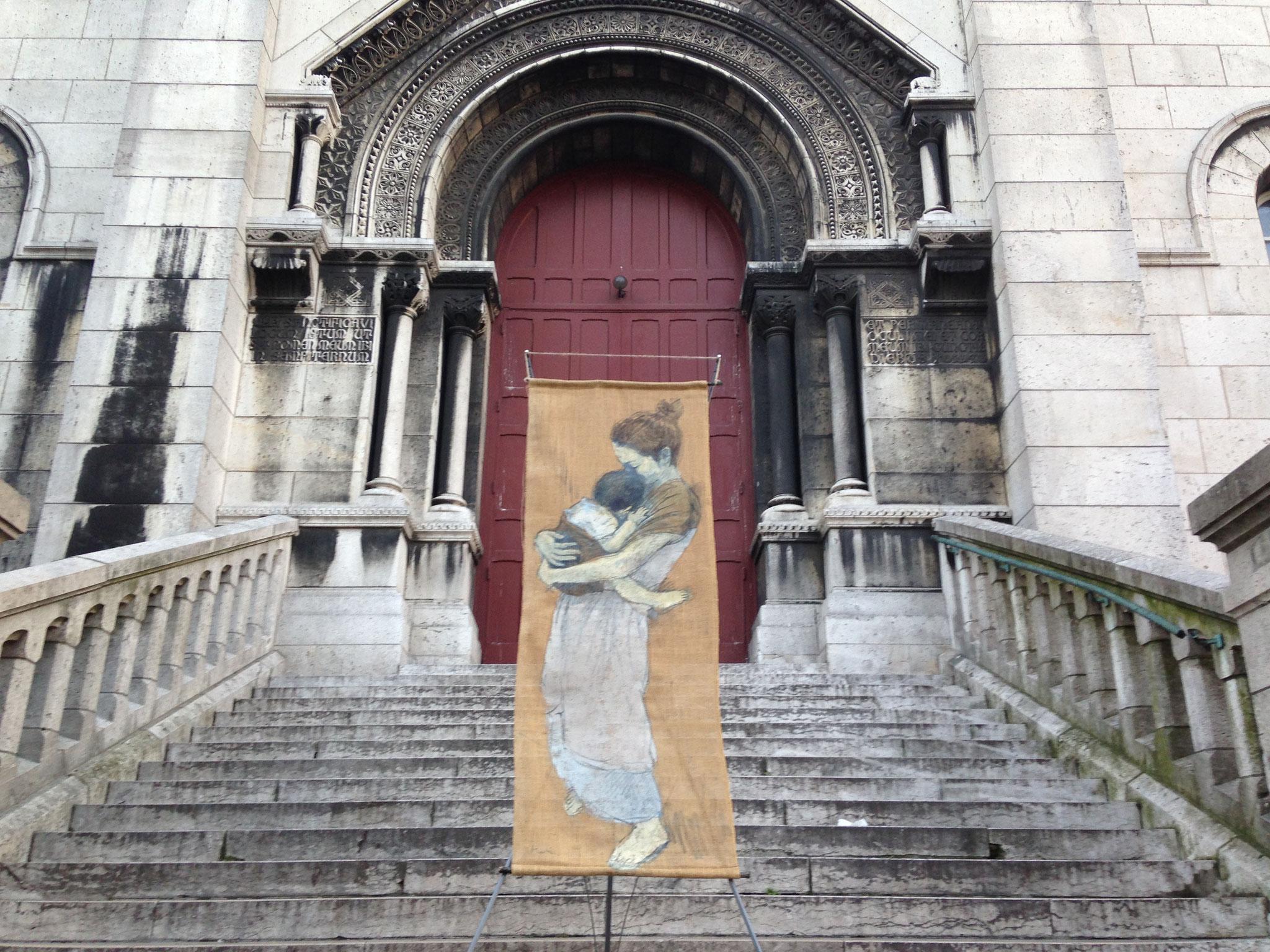 サクレ・クール寺院・モンマルトルの丘 (フランス・パリ) 2014年