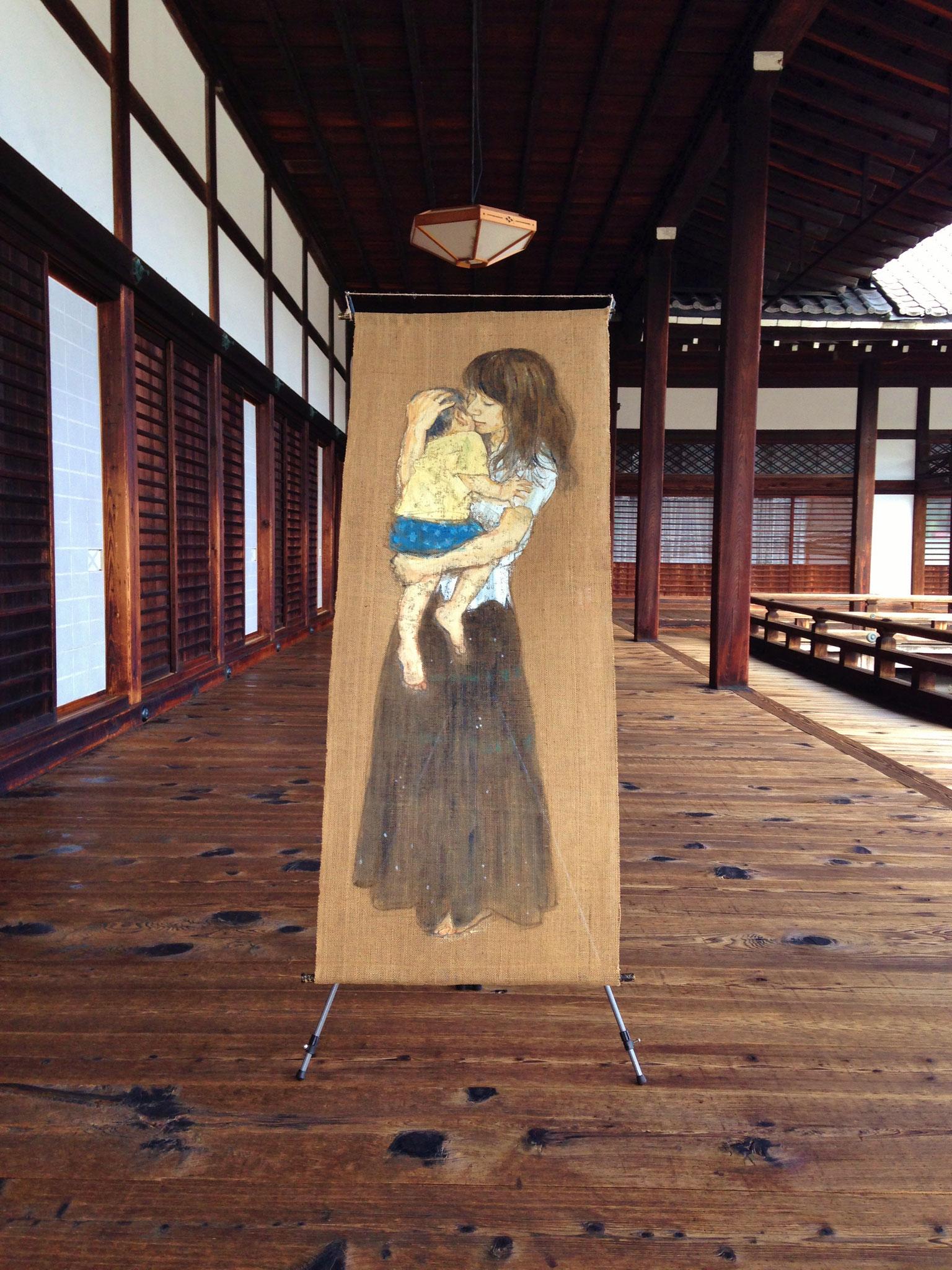 東本願寺・大寝殿・廊下 (京都府京都市) 2015年