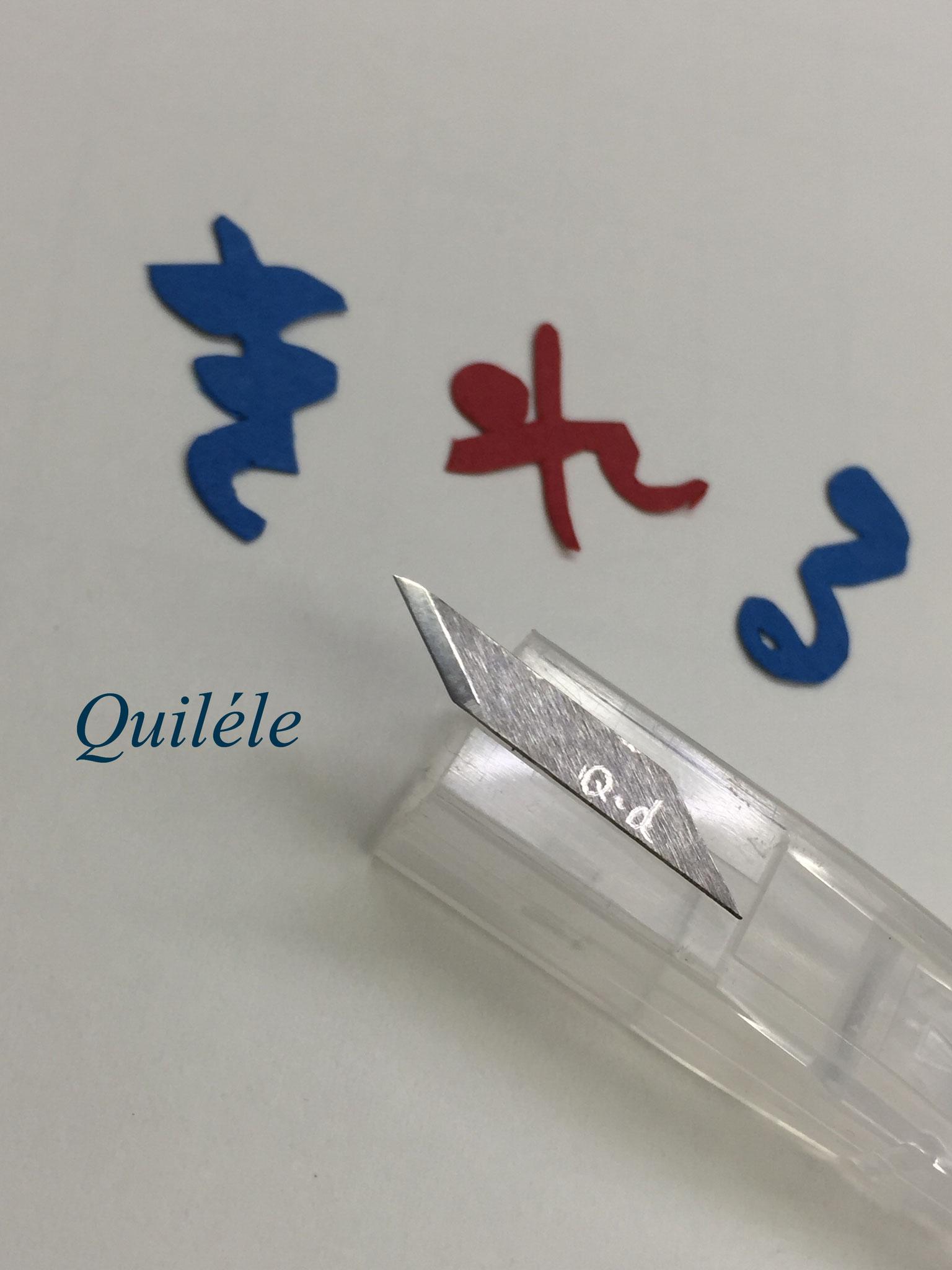 替刃「Q-d」デザインカッター