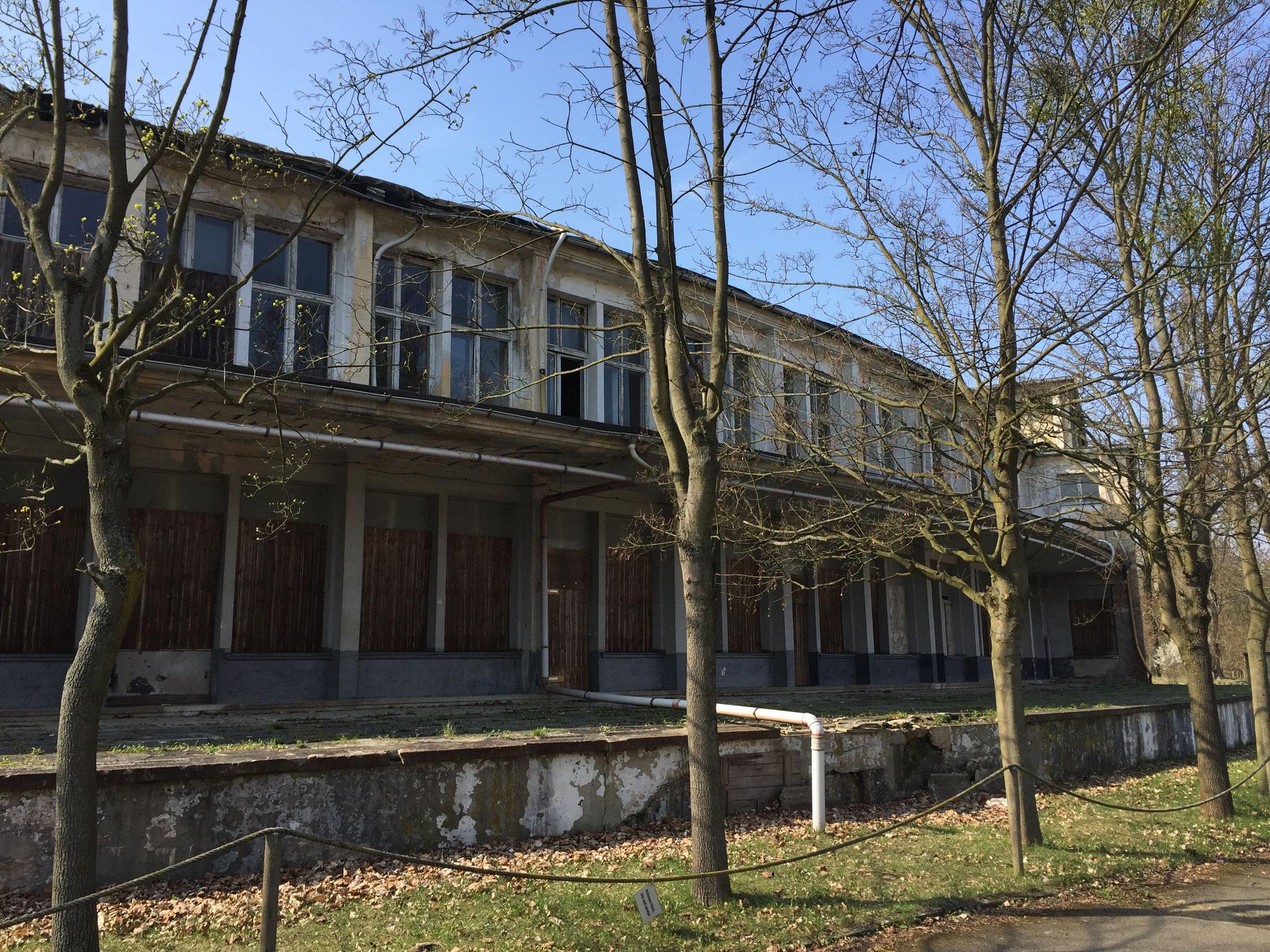 Speisehaus der Nationen (Olympisches Dorf, BERLIN 1936) Wo früher die Olympia-Athleten speisten, entsteht bis 2019 kernsanierter Wohnraum!