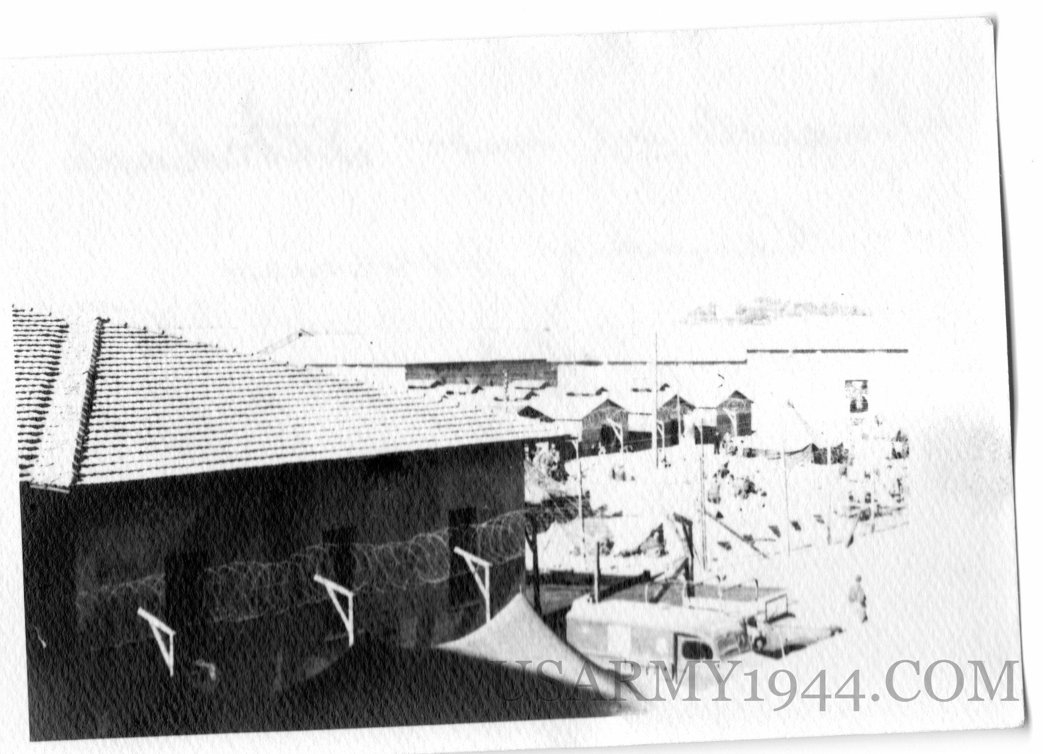 Campo di prigionieri tedeschi a Firenze