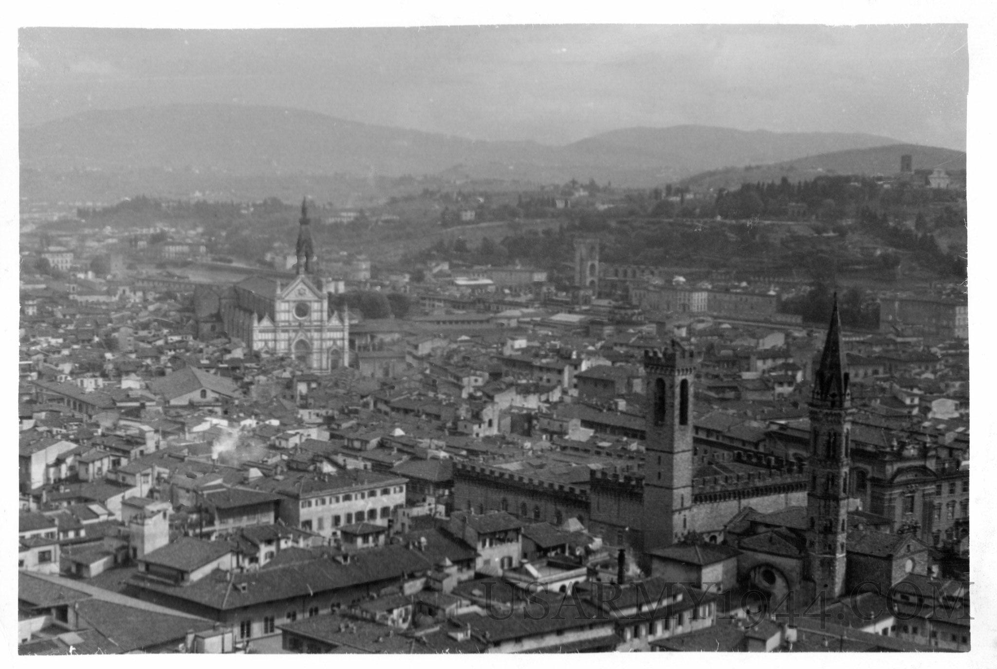 Panorama di Firenze 3