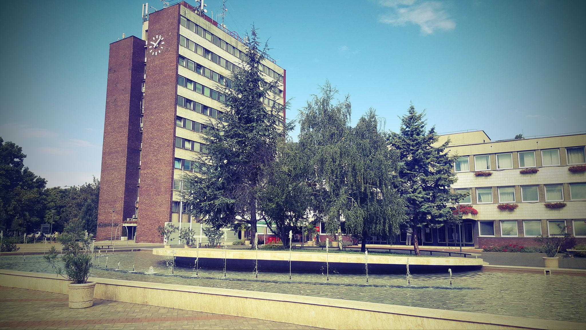 ...der Rathausplatz...