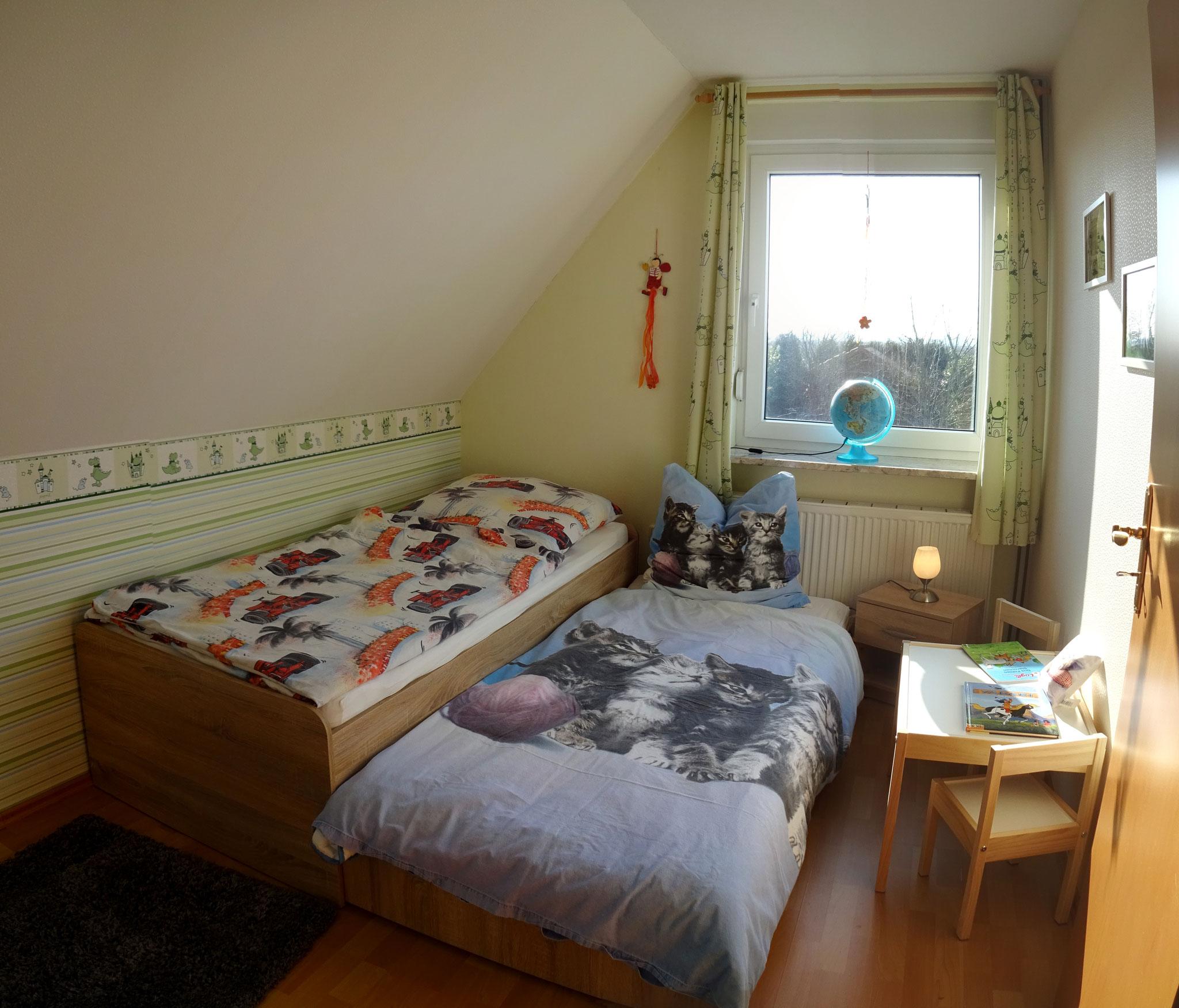 oder als Doppelbett ( 2x 90cm x 200cm)