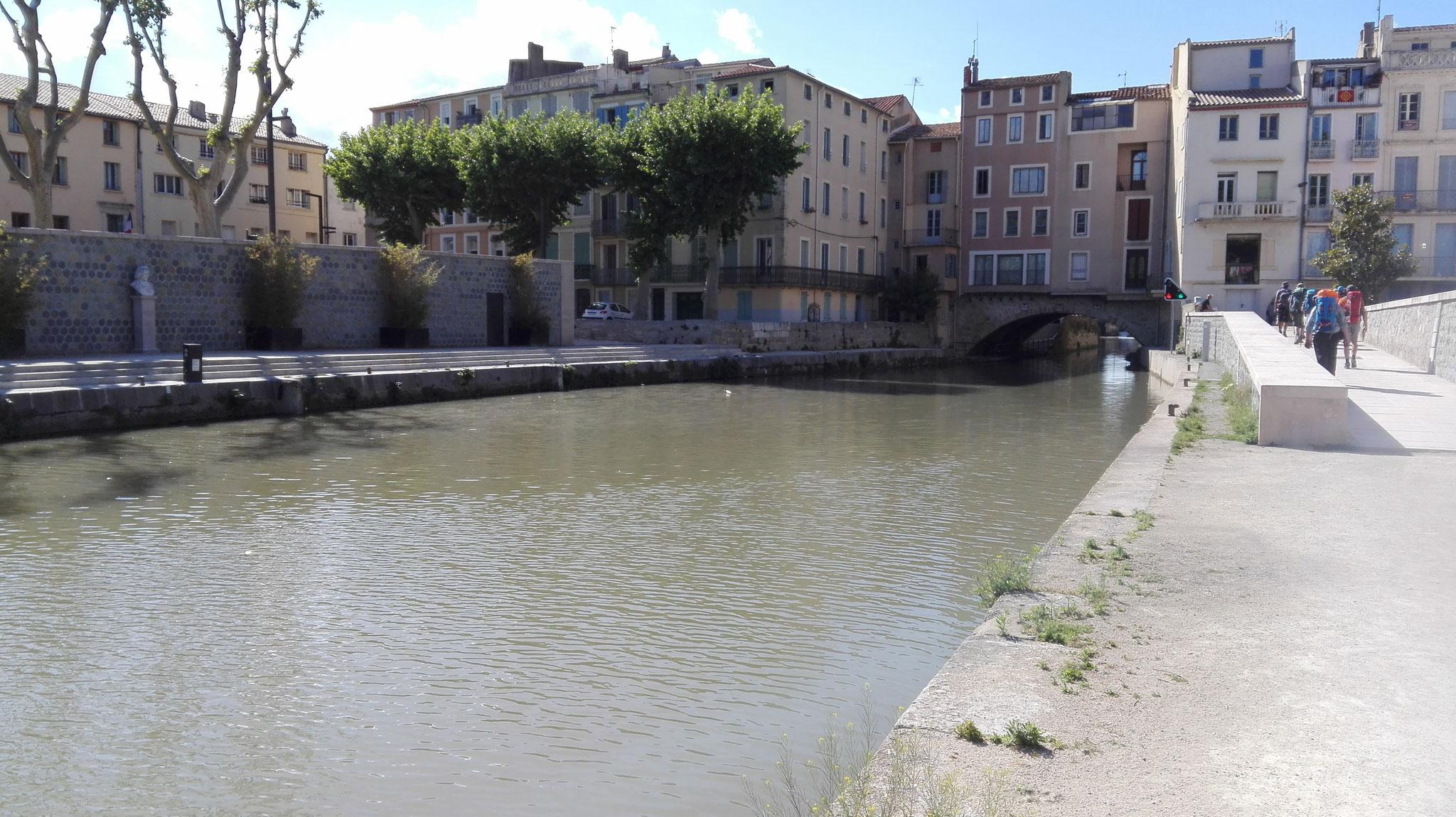 Arrivée à Narbonne