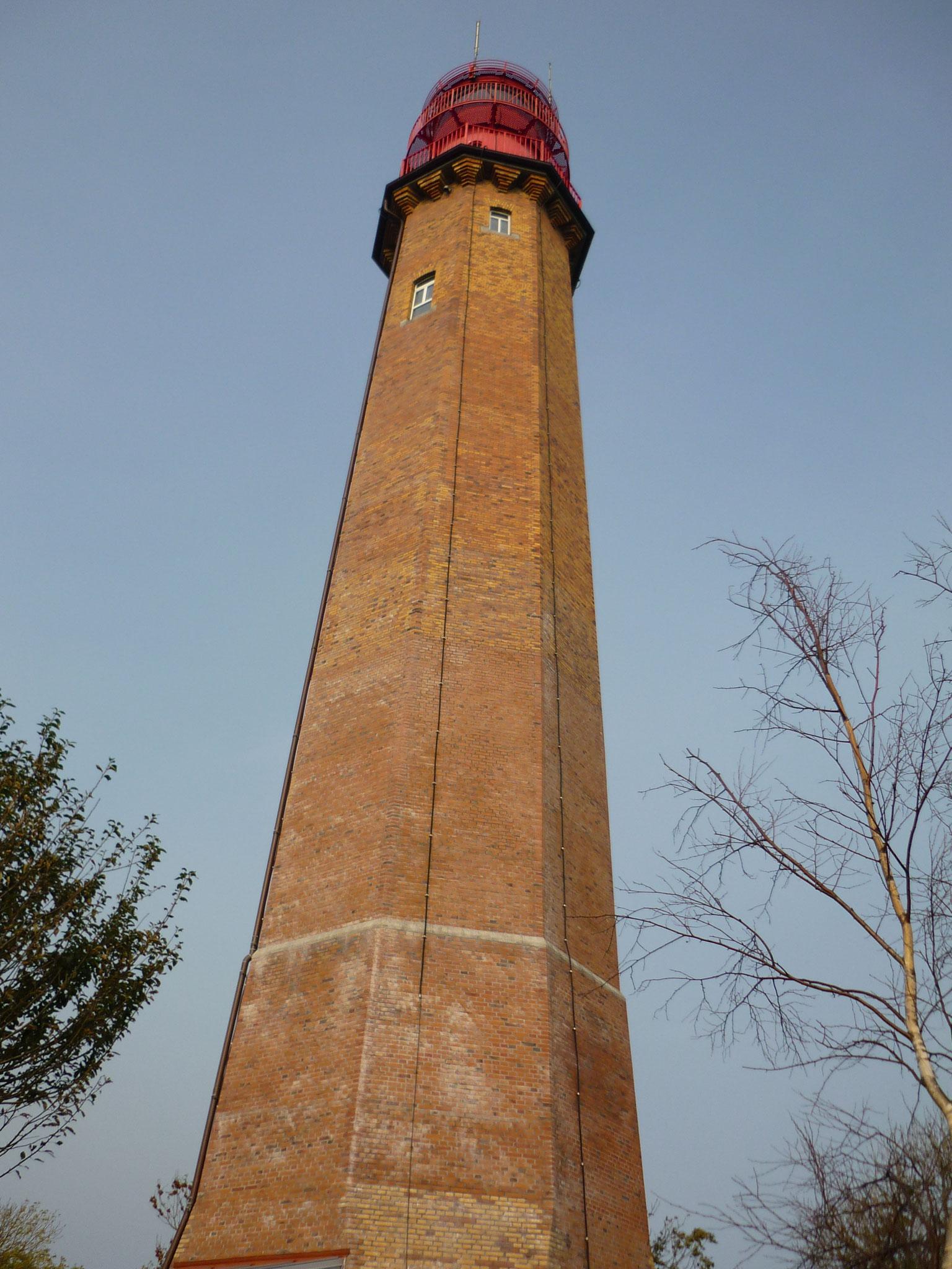 Leuchtturm auf Fehmarn (Flügge) - ganz schön hoch