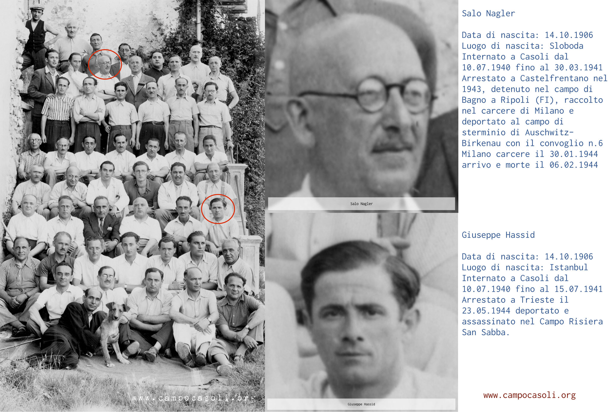 La ricerca di identificazione sulla foto è ancora in corso. Al momento possiamo riconoscere 2 persone.