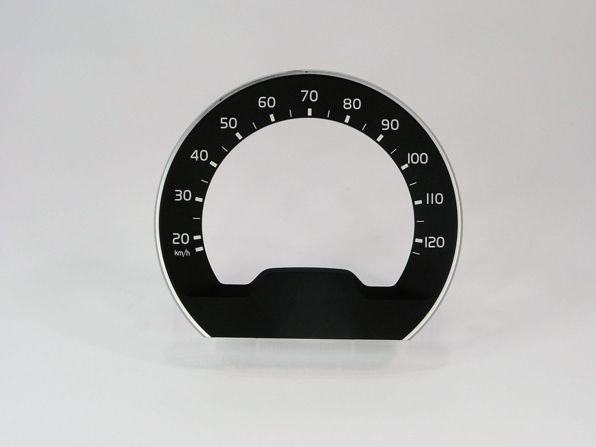 Siebdruck und Lasertechnik Tachometer