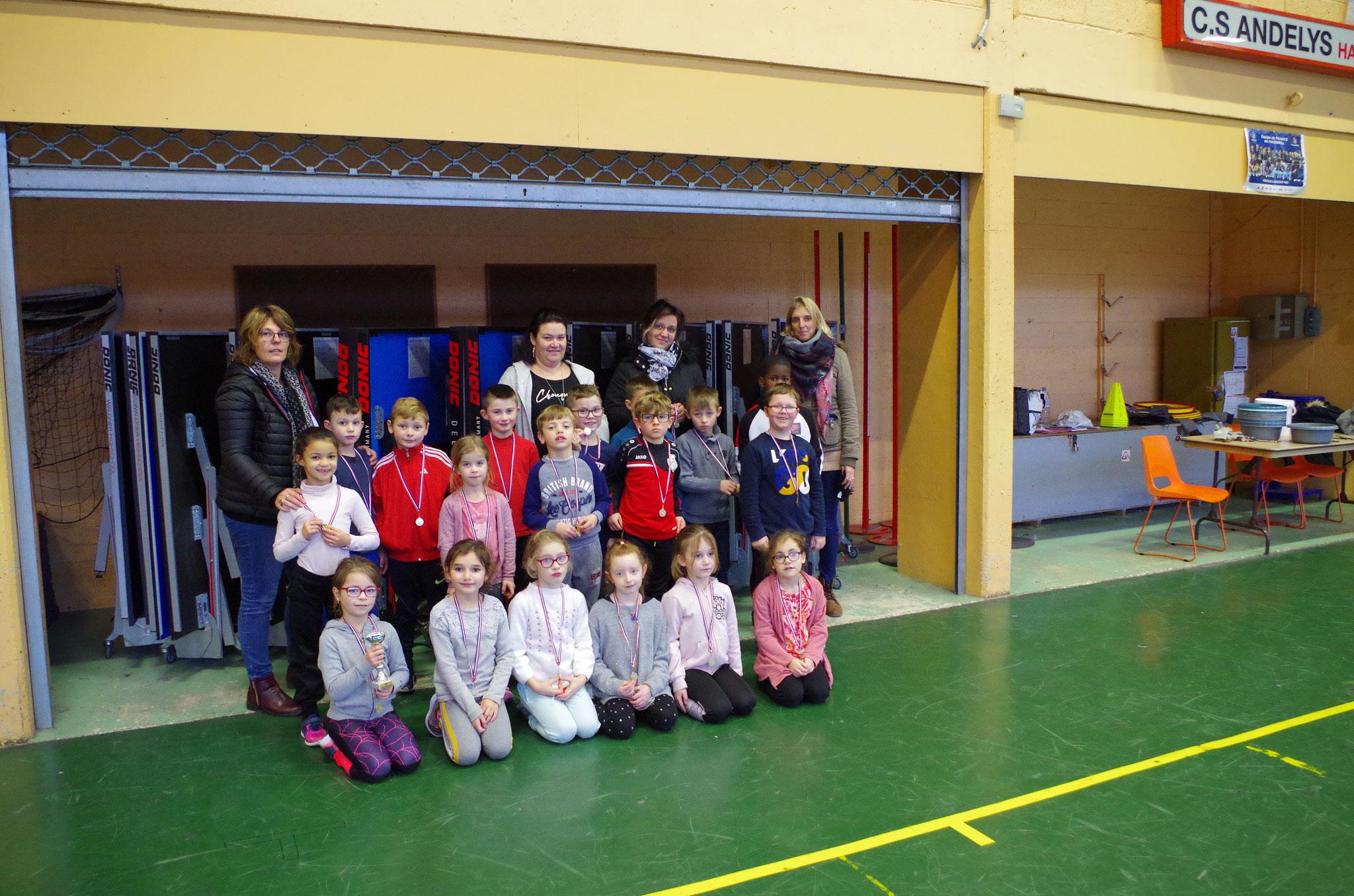 La classe de Madame Lecouteux CE1.