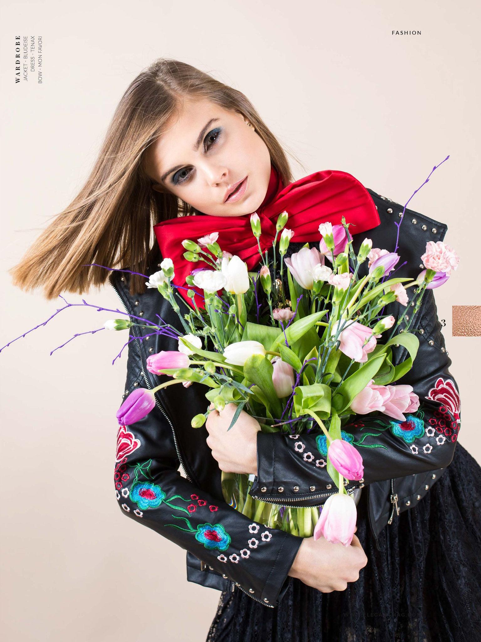 Flower Fantasies - ELEGANT NYC, April 2018 Vol. 47 No. 13