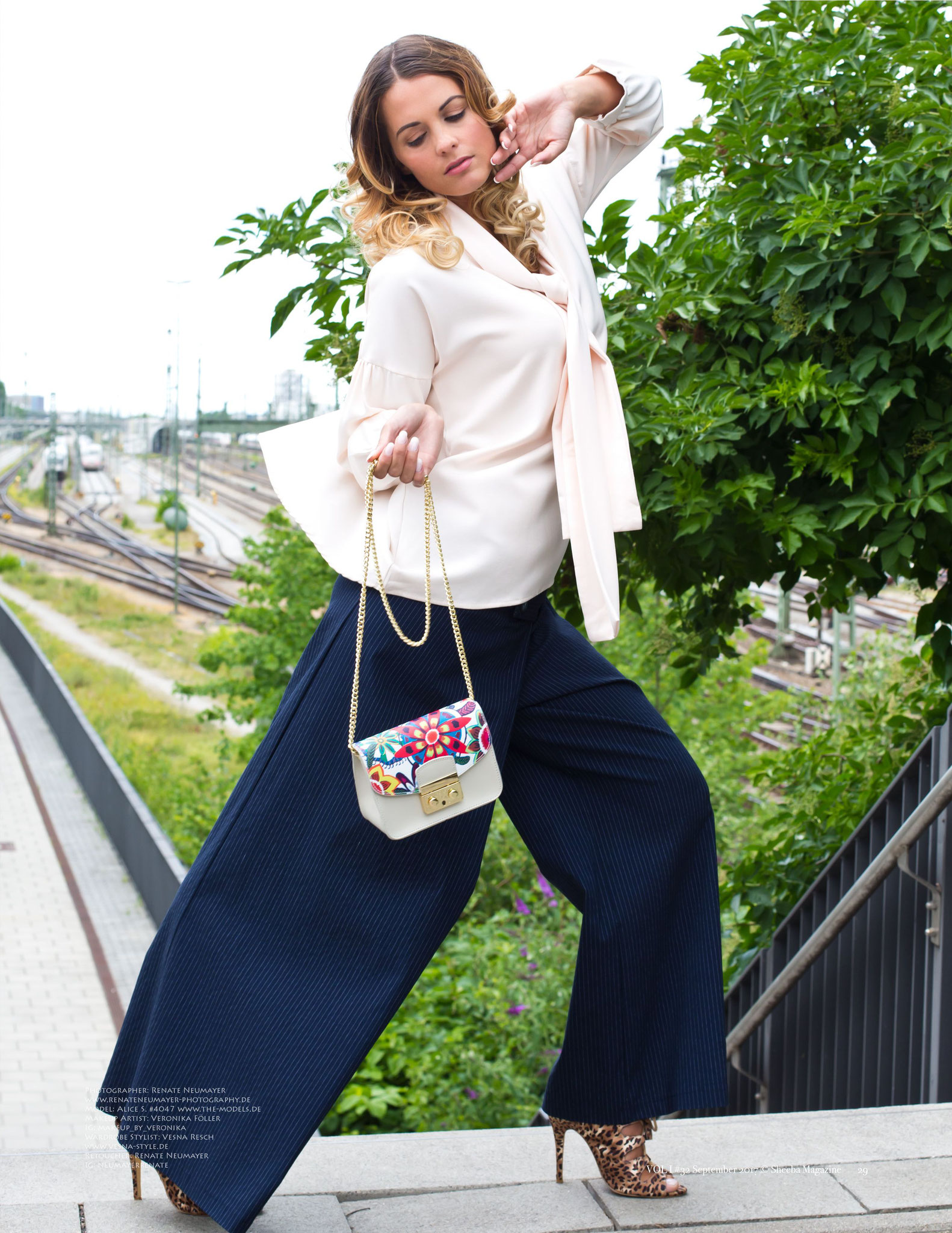 SHEEBA UK, September 2017 VOL I - Fashion Stylist: Vesna Resch