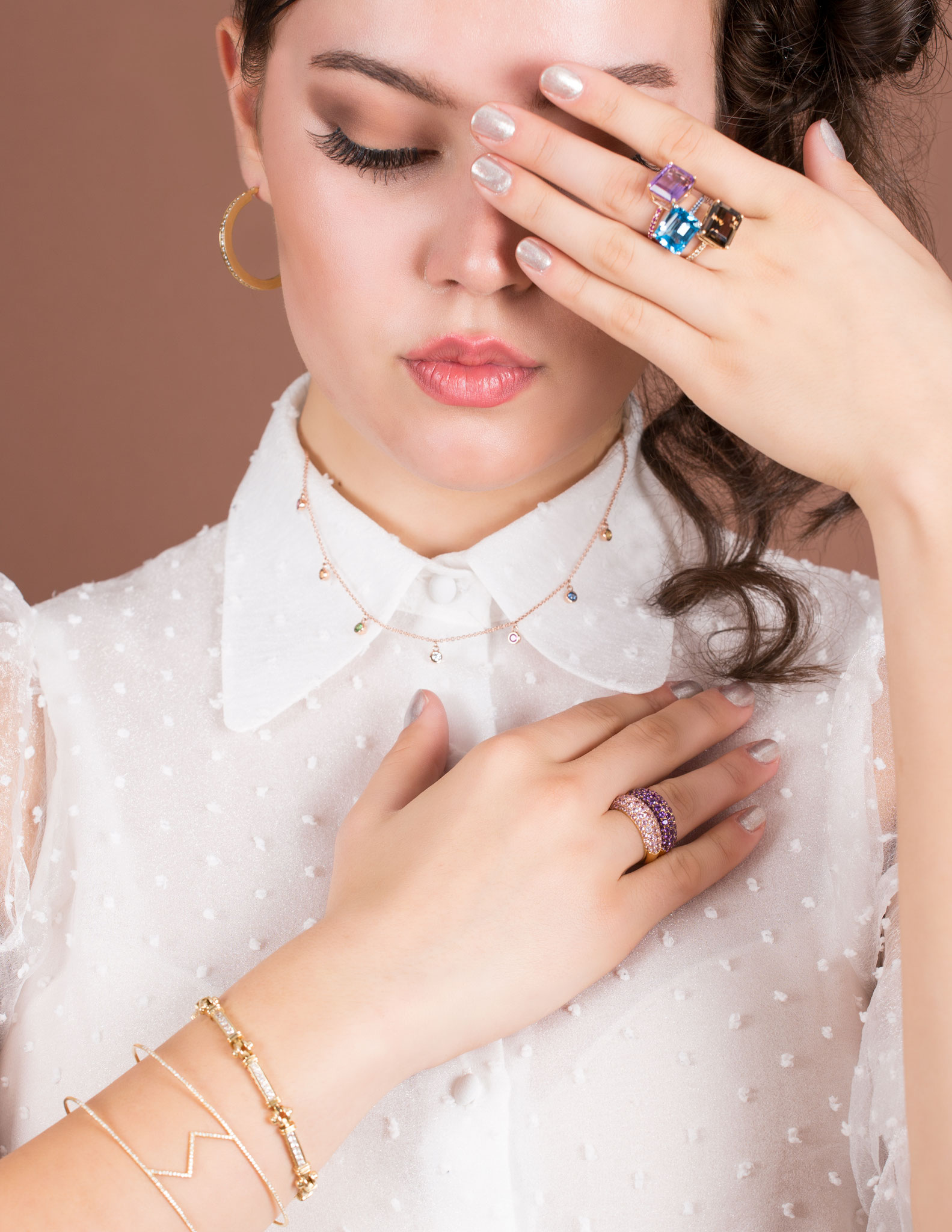 Visions of Jewls - GMARO PARIS, December 2020 - Fashion Stylist: Vesna Resch