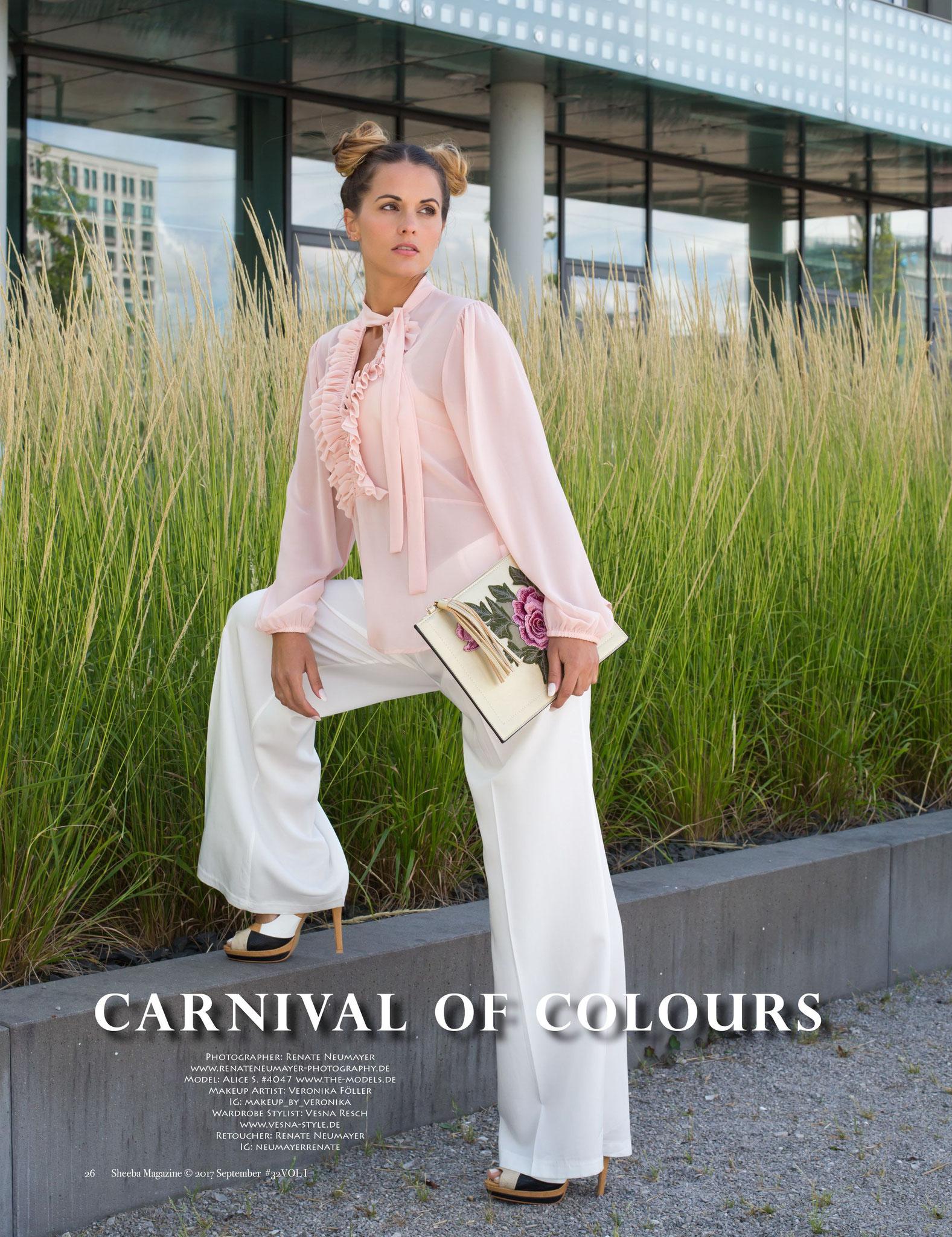 Carnival of Colours - SHEEBA UK, September 2017 VOL I