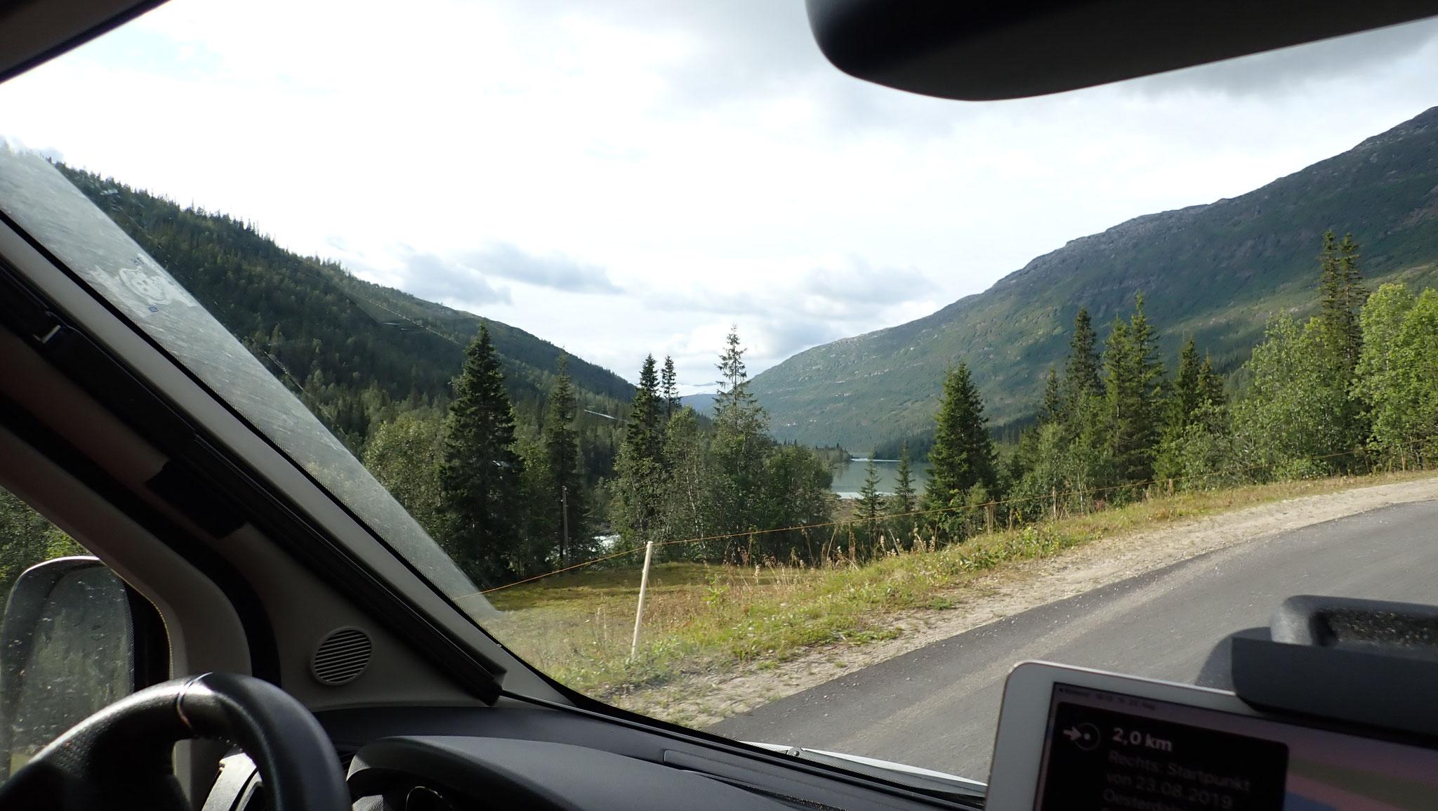 Fahrt nach Svartisen