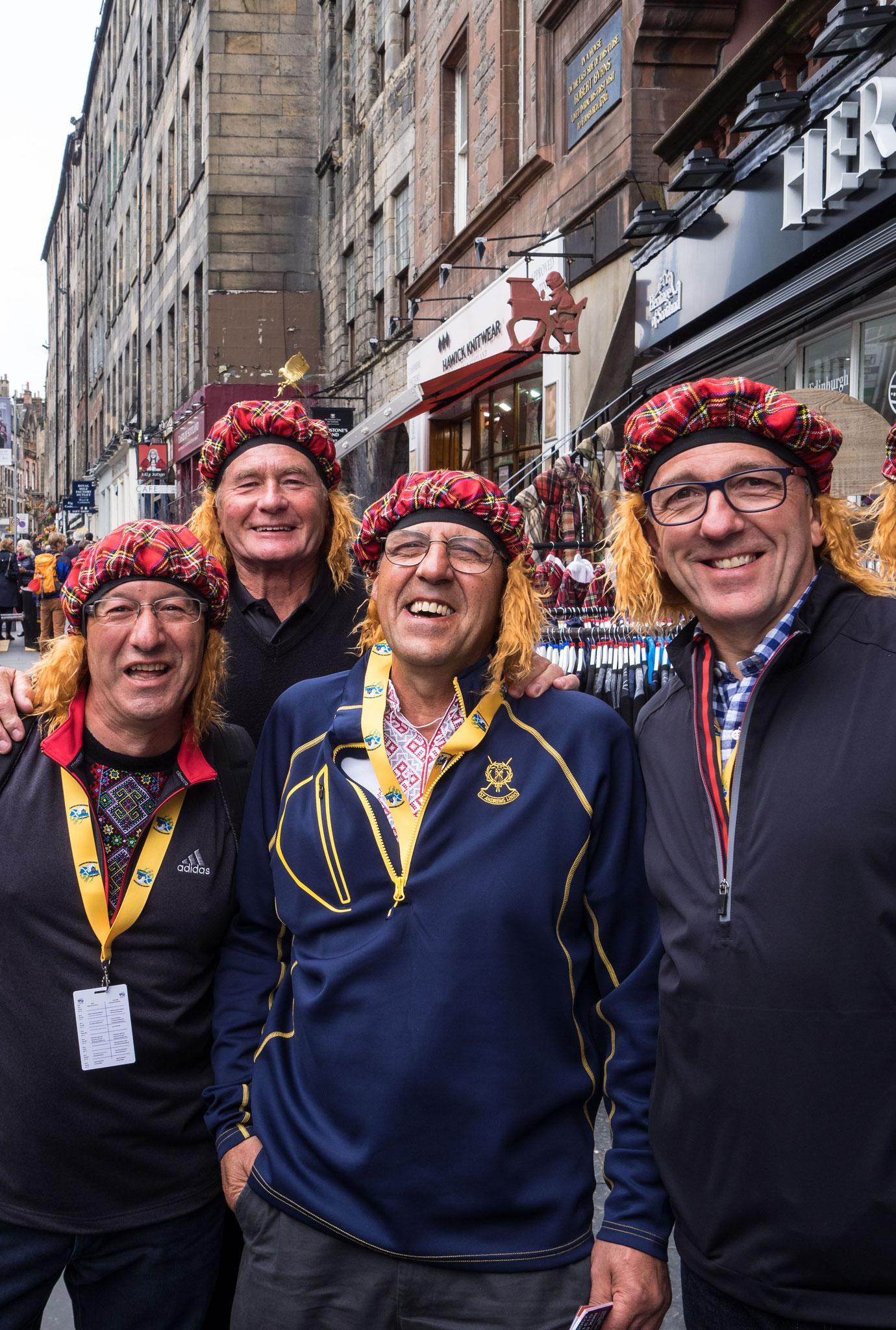 Bild: Edinburgh Touristen