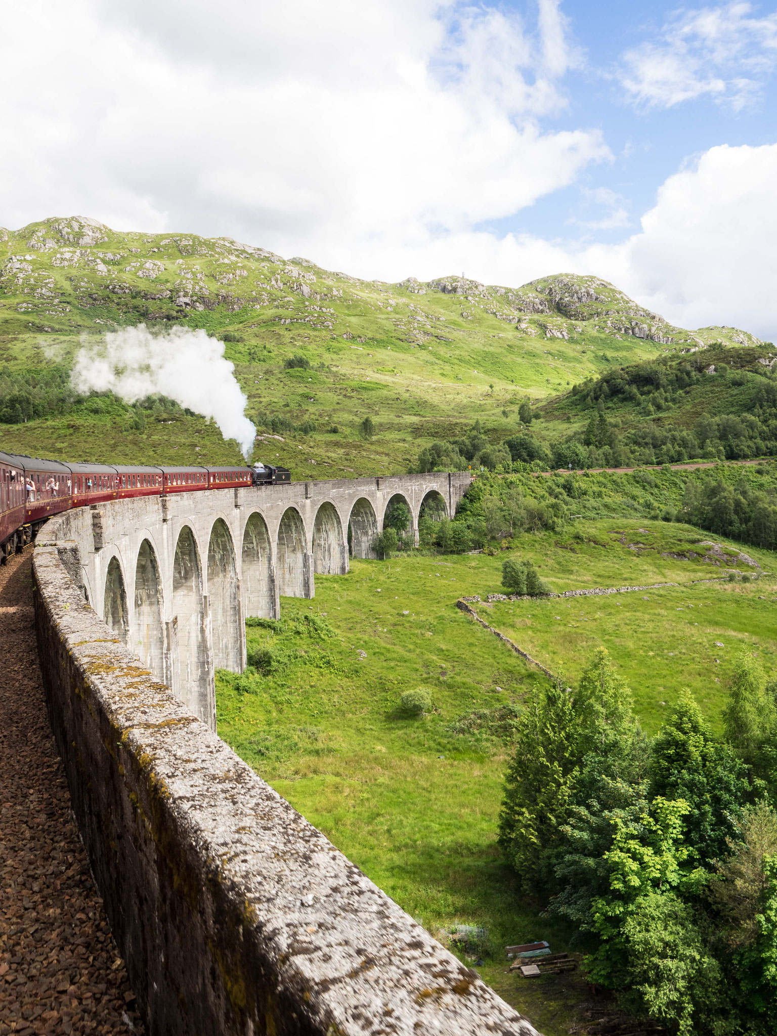 Bild: Glenfinnan Viaduct