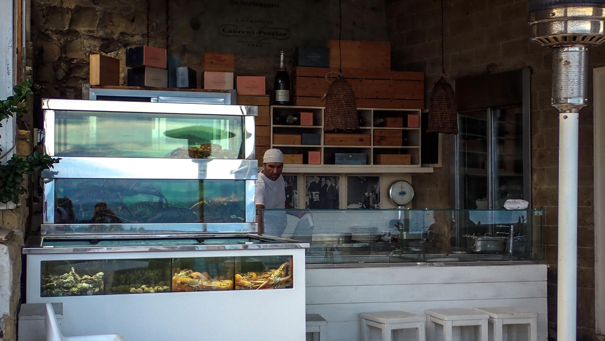 Posillipo Lido Marechiaro Fischlokal