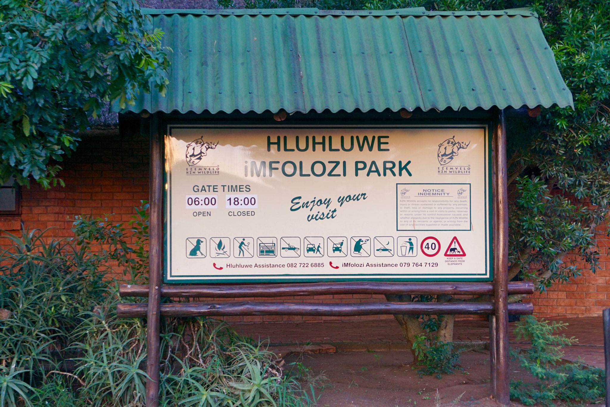 Bild: Hluwhluwe Nationalpark