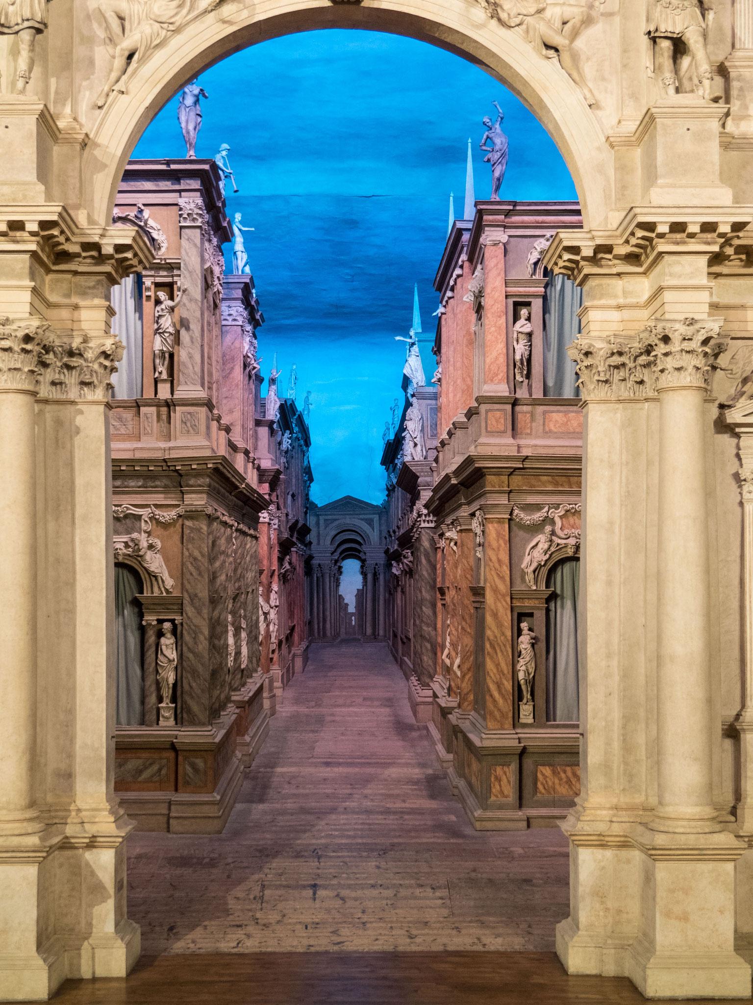 Bühnenbild Teatro Olimpico