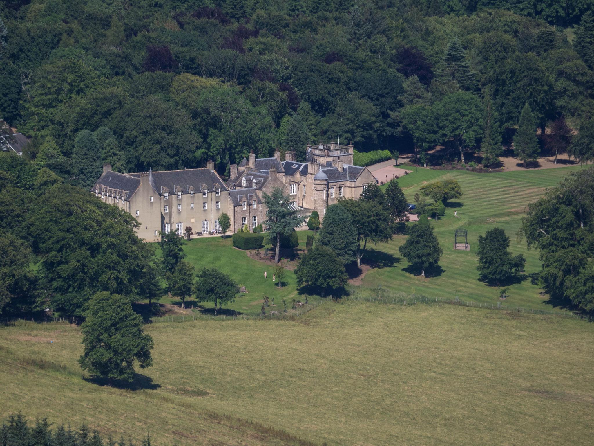 Bild: Blick auf Pittodrie House