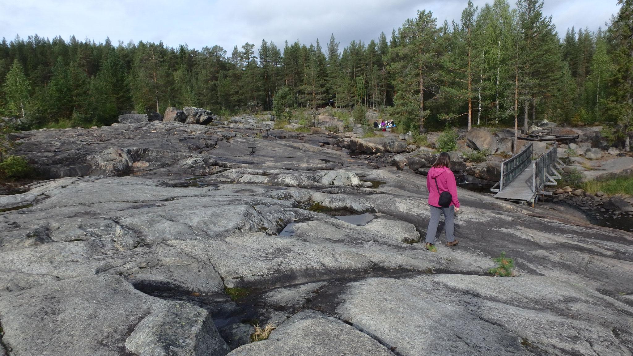 Wanderweg Storforsen