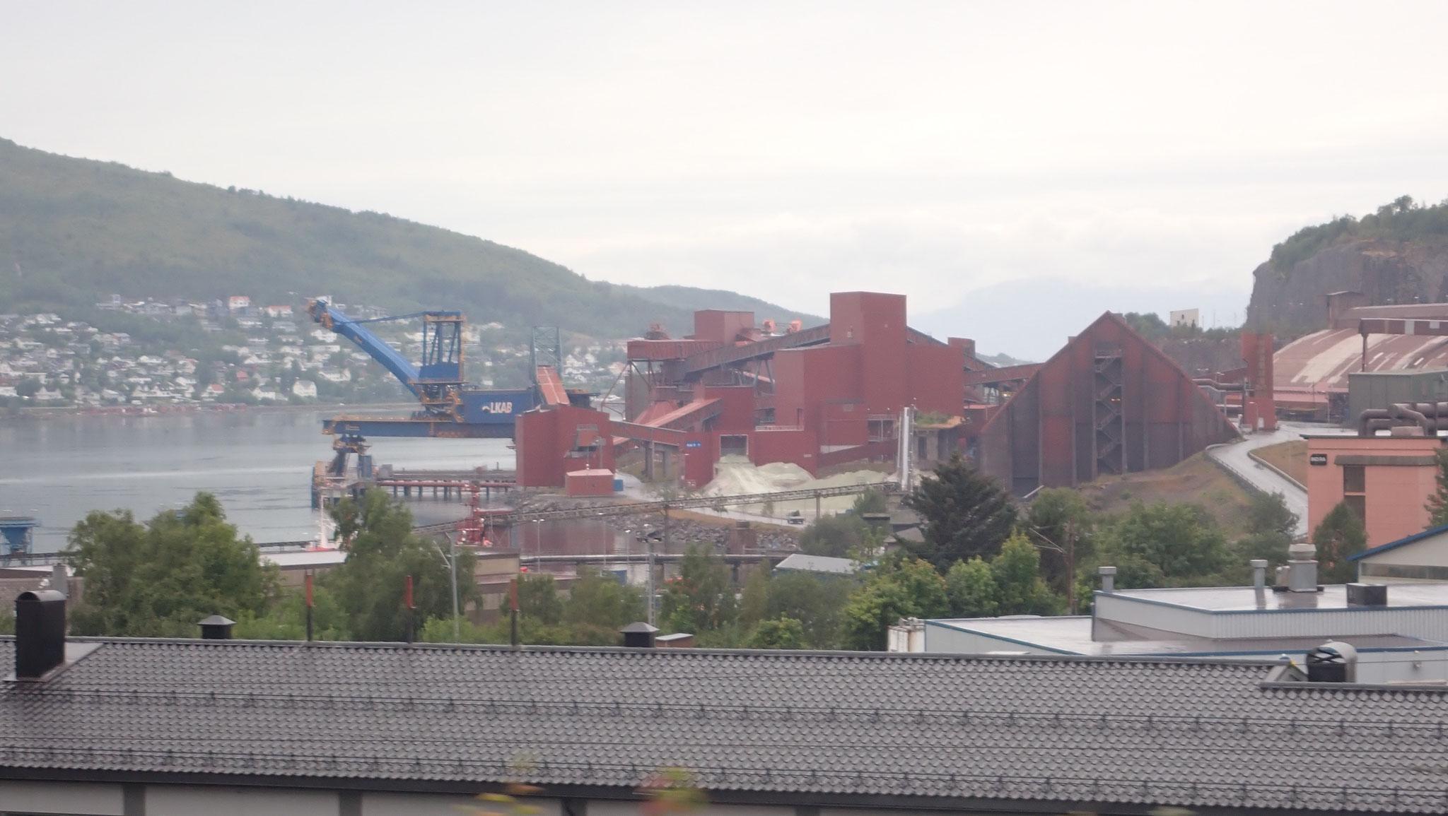 Narvik im Regen