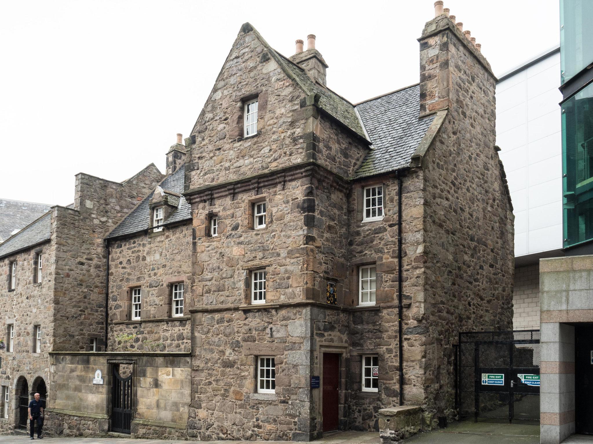 Bild: Provost Ross´s House von 1593