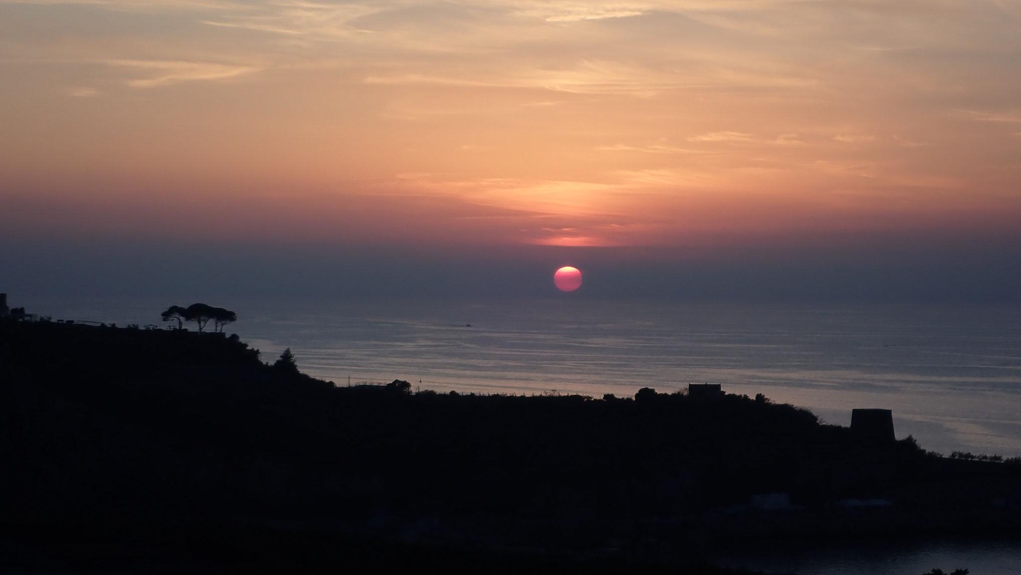 Wenn bei Capri die Sonne ...
