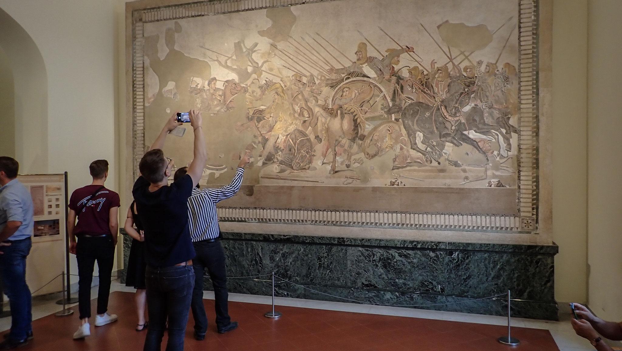 Mosaik Alexander der Große