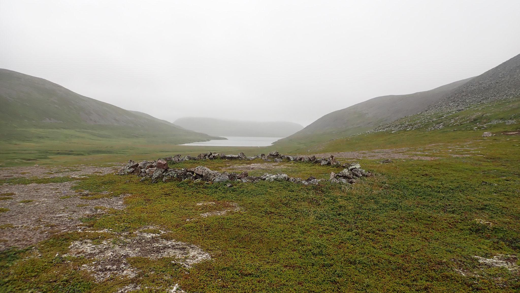 Syltevikvatnet alte Sami Kultstätte