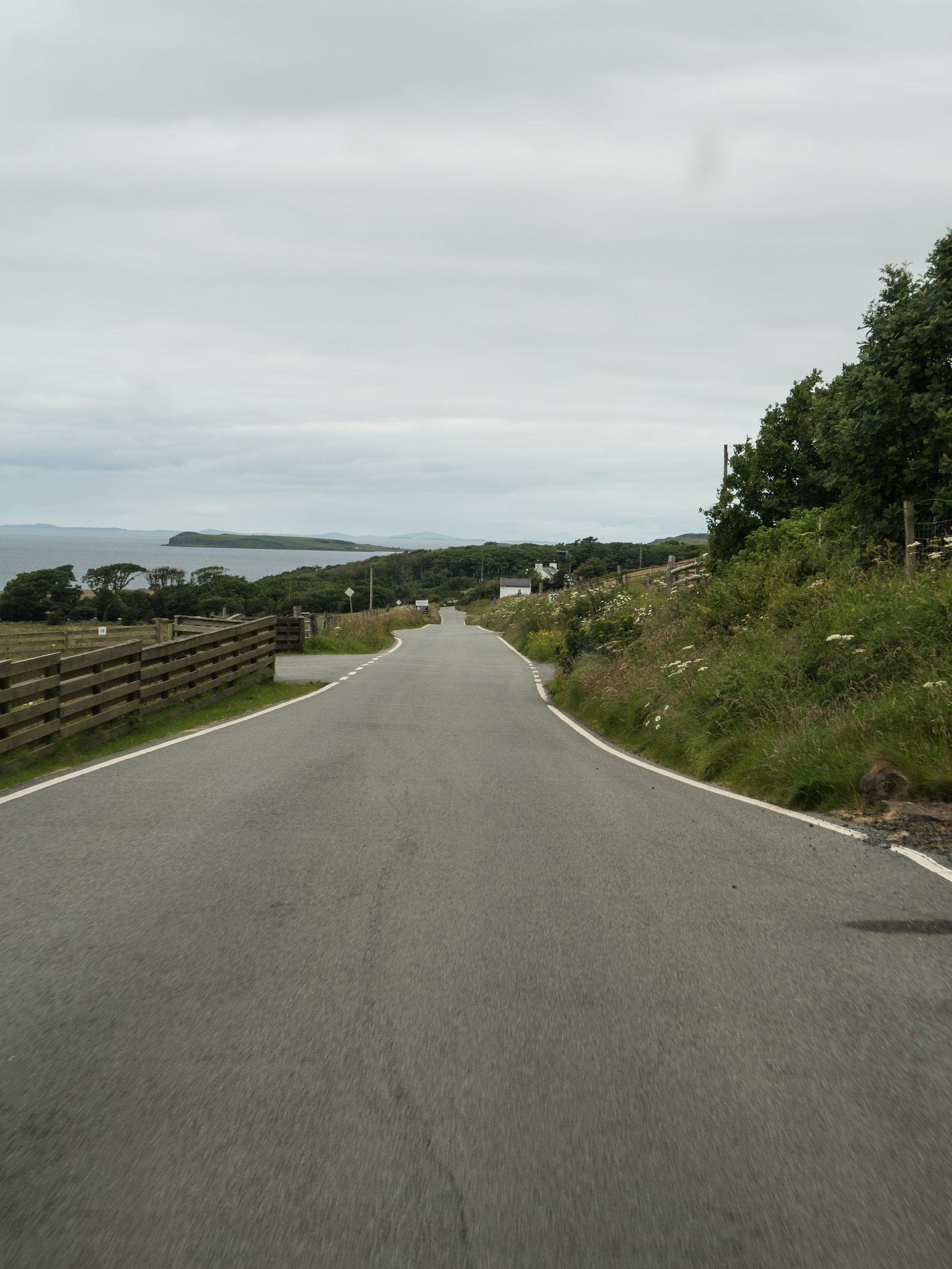 Bild: einspurige Straßen