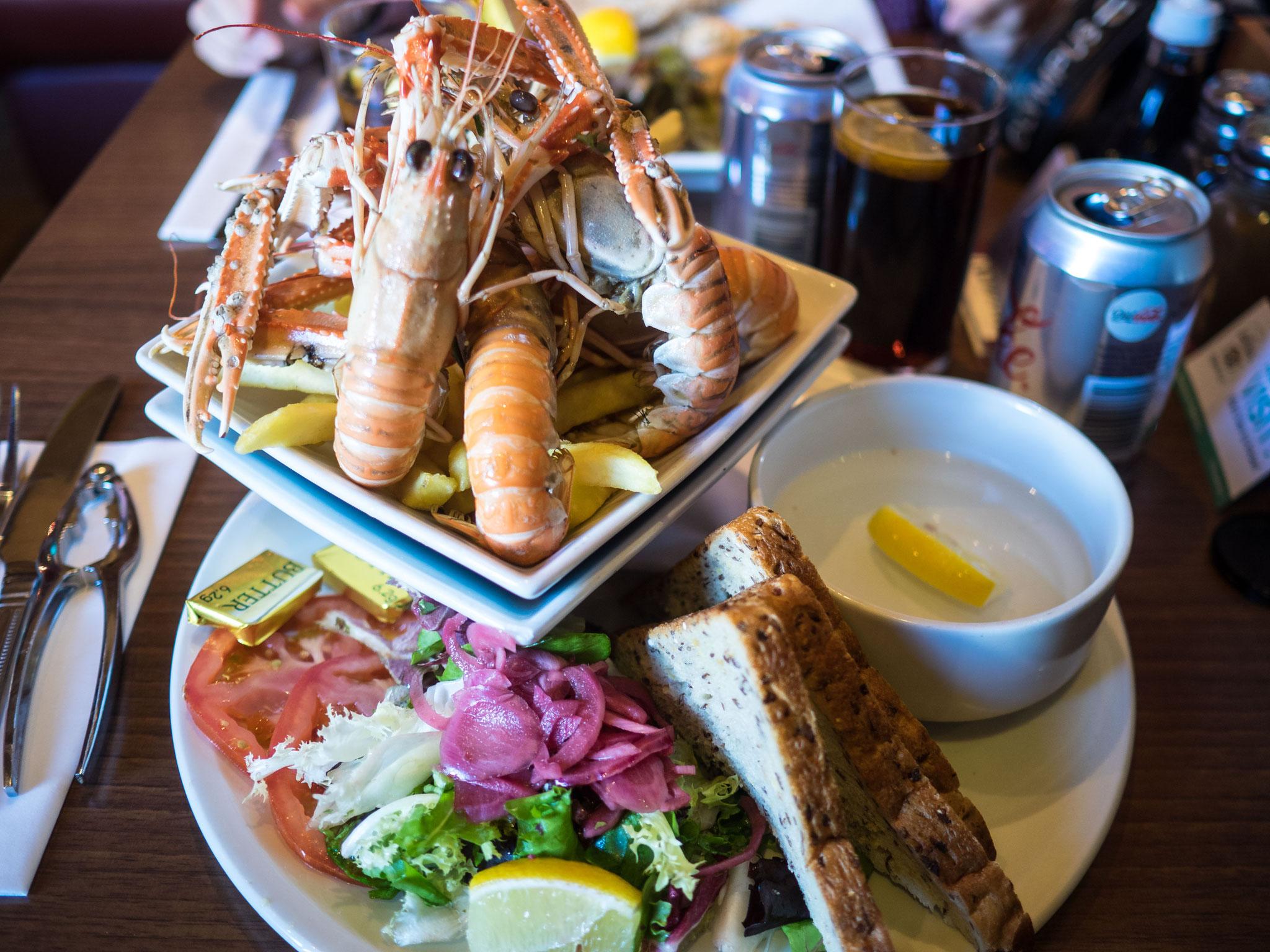 Bild: Mittagessen in Mallaig